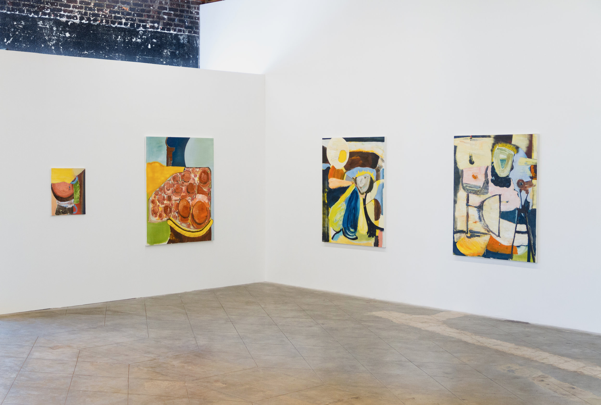 Robert Gunderman  there-there, Los Angeles, California  installation view