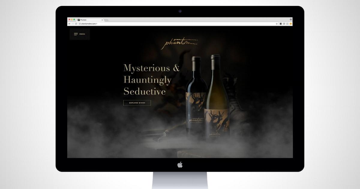 Bogle Winery: Bringing Home the Legend of the Phantom - Social & Content Strategy, Web Design & Development, Digital Marketing & Content, Media Planning & Management, SEM, SEO, Account Directionwww.phantomwine.com