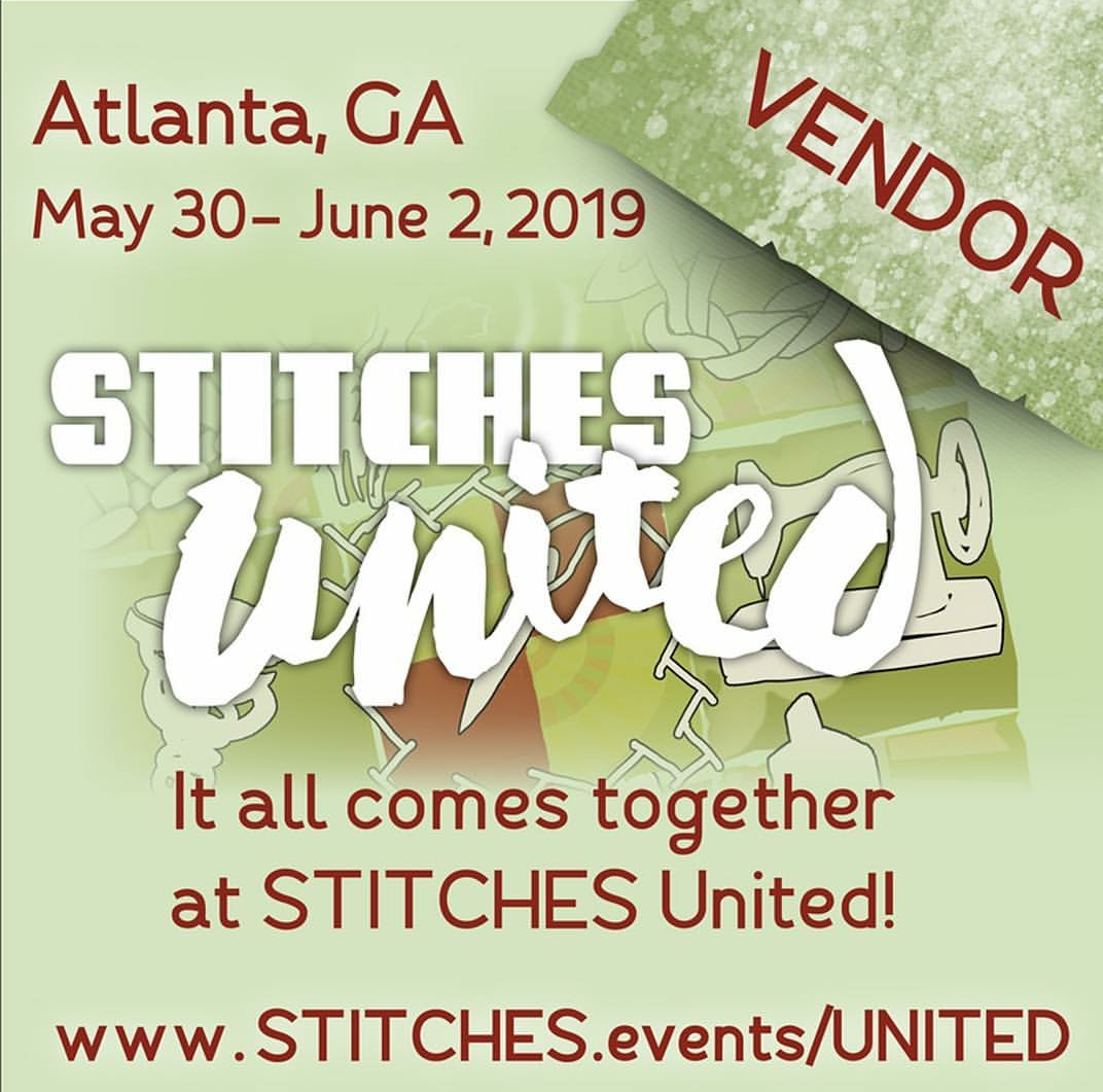 Heart and Spirit is a vendor at Stitches United!!! We'll have some great surprises, fabulous fiber inventory and maker's accessories. Registration and event details can be found here at Knitting Universe. Stop by Booth 223, we'd love to see you! -