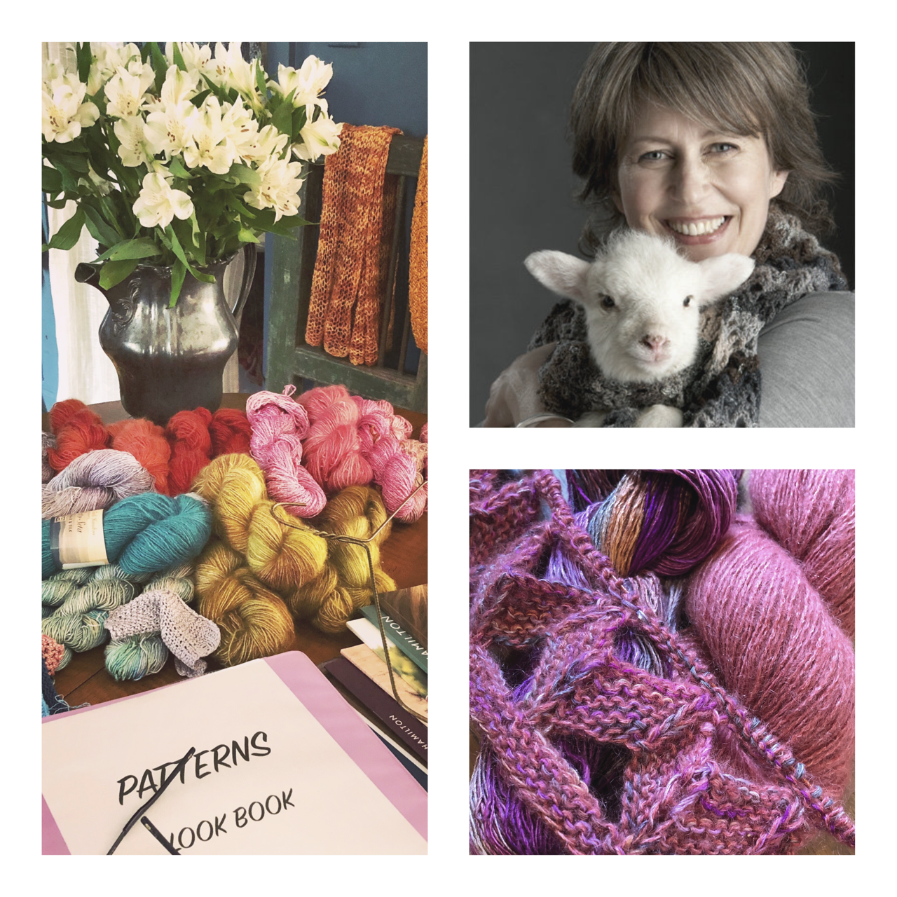 Heart and Spirit is excited to host Cornelia Tuttle Hamilton for a trunk show! Cornelia's designs have been published extensively in both American and European magazines such as Vogue Knitting, Creative Knitting, and Knitting (Danmark), just to name a few. She has 14 published pattern books to her name, as well as a yarn line. She will be bringing her lovely yarn selection to Heart and Spirit at the Westside Market Toco Hill, on Sunday, November 10, from 1:00-4:30pm. Come meet another fabulous maker in our community! -