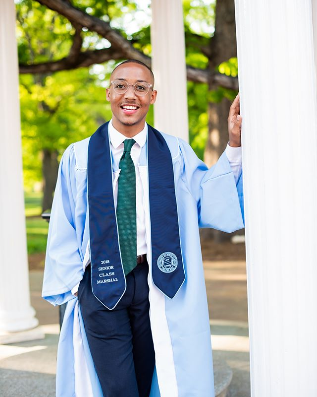 Today's Senior Spotlight is Aaron Epps. He joined HMX the Fall of 2014 as a Tenor. He graduated with a Bachelor of Arts in Political Science. After graduation he is working in recruiting for Microsoft. His favorite HMX memory is singing his first solo at the 2014 Homecoming stepshow. Congratulations Aaron! We are proud of you!