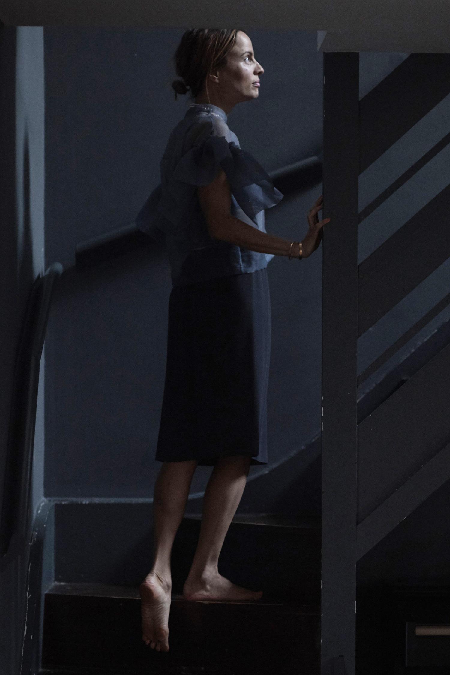 Rosa Macher Skirt Charcoal