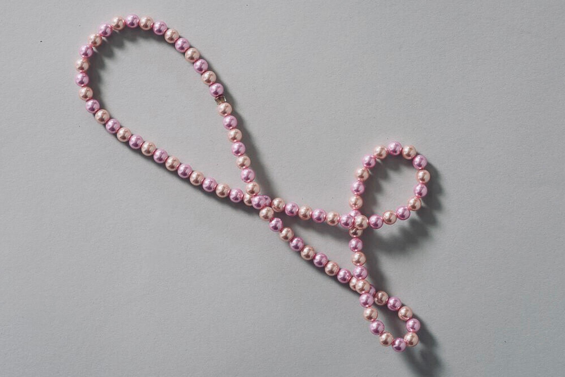 Rosa Macher Pearl Necklace Lilaa & Orange