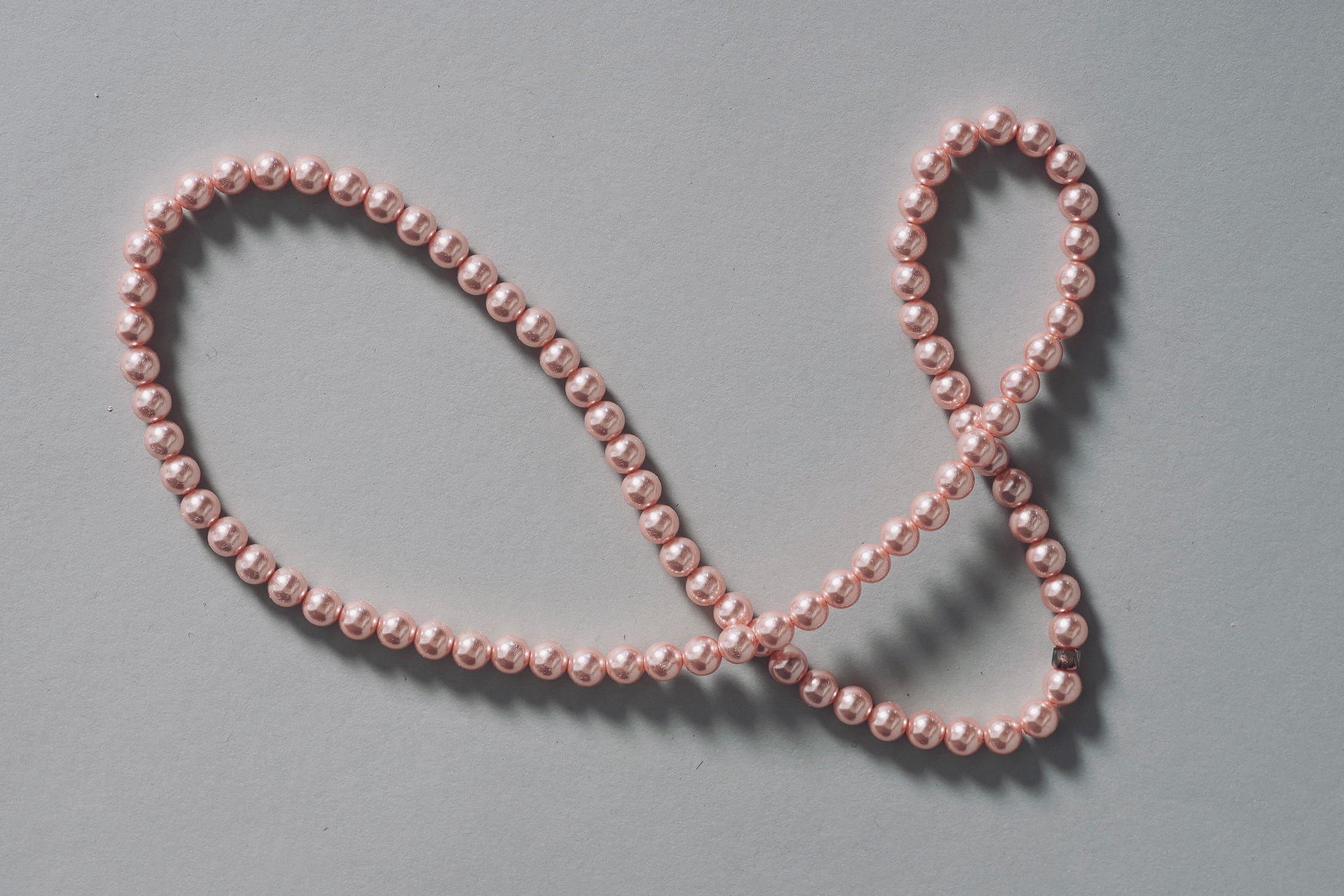 Rosa Macher Pearl Necklace Orange