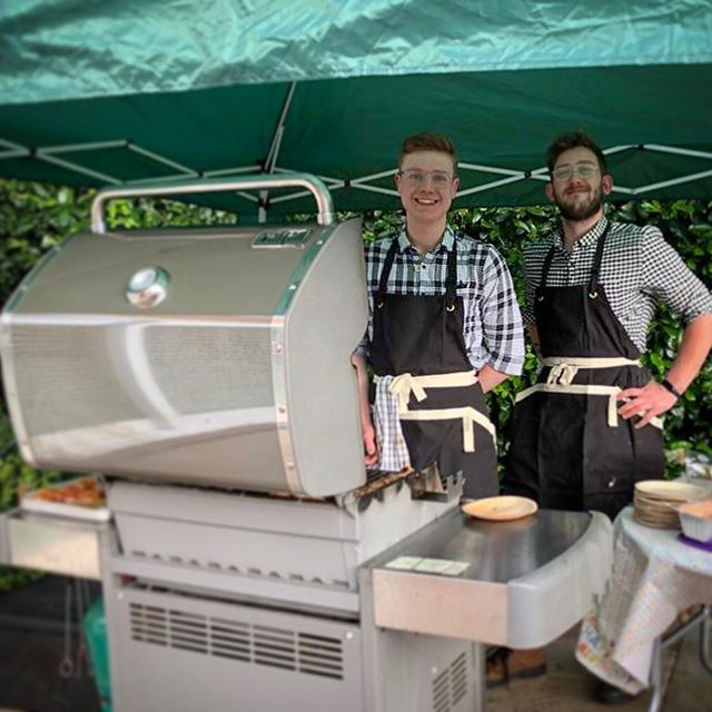 A brilliant Sunday for @benofstoneleighs and @barnabyofstoneleighs cooking for Torquin's 50th birthday and Father's Day celebrations! Thank you very much to Stephanie and Tourquin for a fantastic event, we are very greatfull to have been a part of it! . . . #butchersofinstagram #stoneleighscobham #stoneleighsweybridge #butcher #meat #bbq #grilling #homecooking #burgers #flavour #passion #lovework #cobham #weybridge #surrey #instafood #shoplocal #passionista #youngbutcher #butcherlife