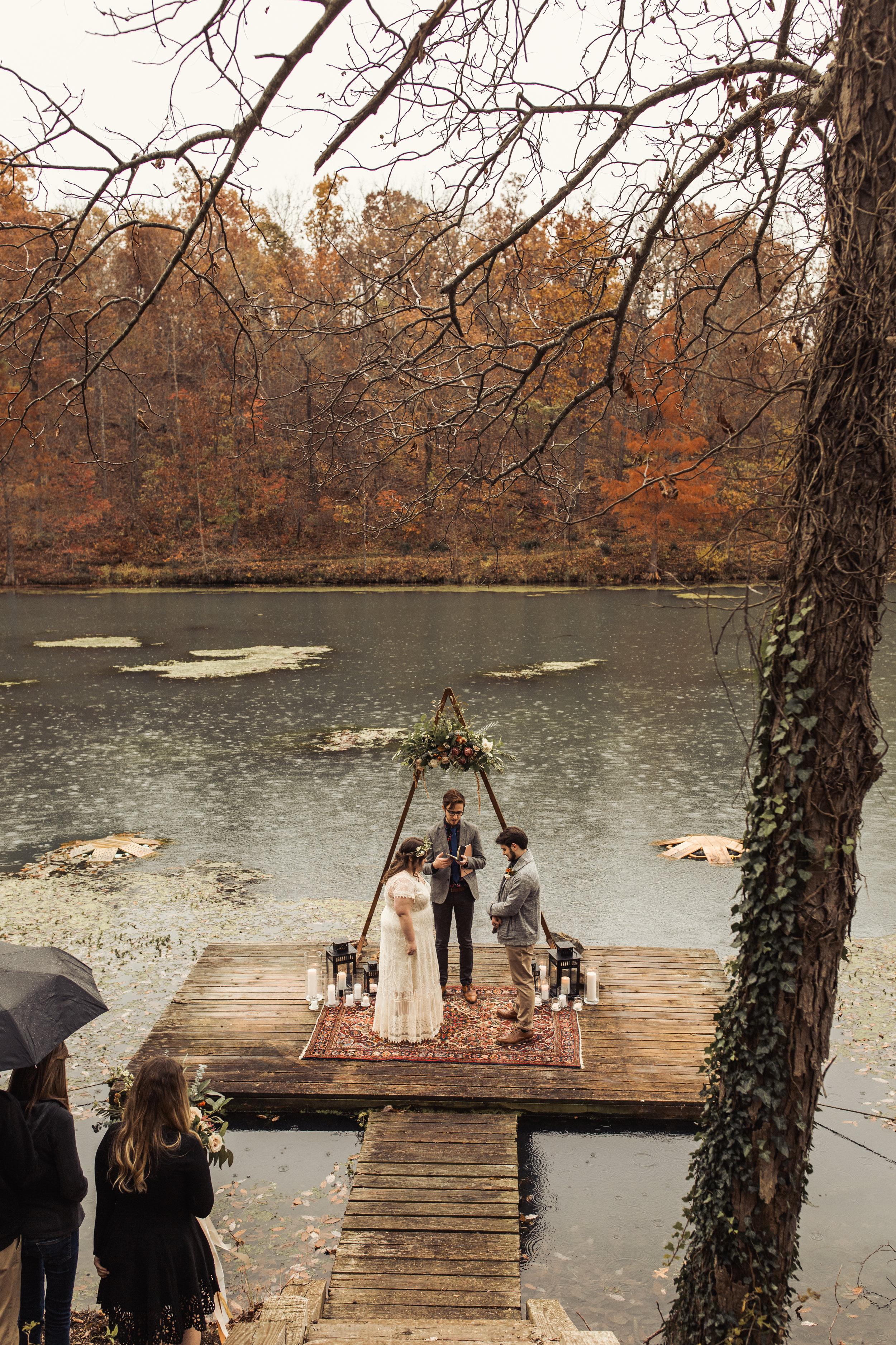 moody lake elopement