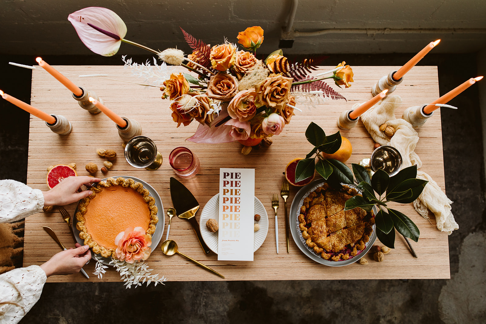 Wedding Tablescape. Peach Wedding Colors. Boho Wedding. Intimate Table. Wedding Inspiration. Modern Eclectic Tablescape.