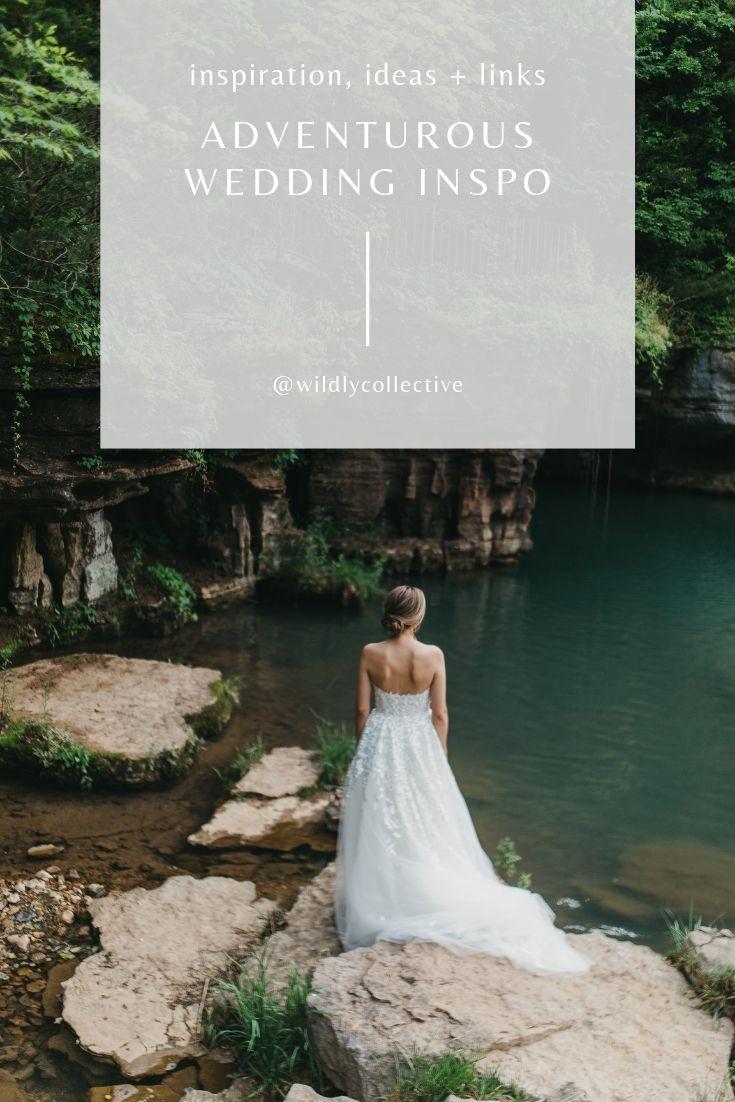 adventurous wedding inspiration