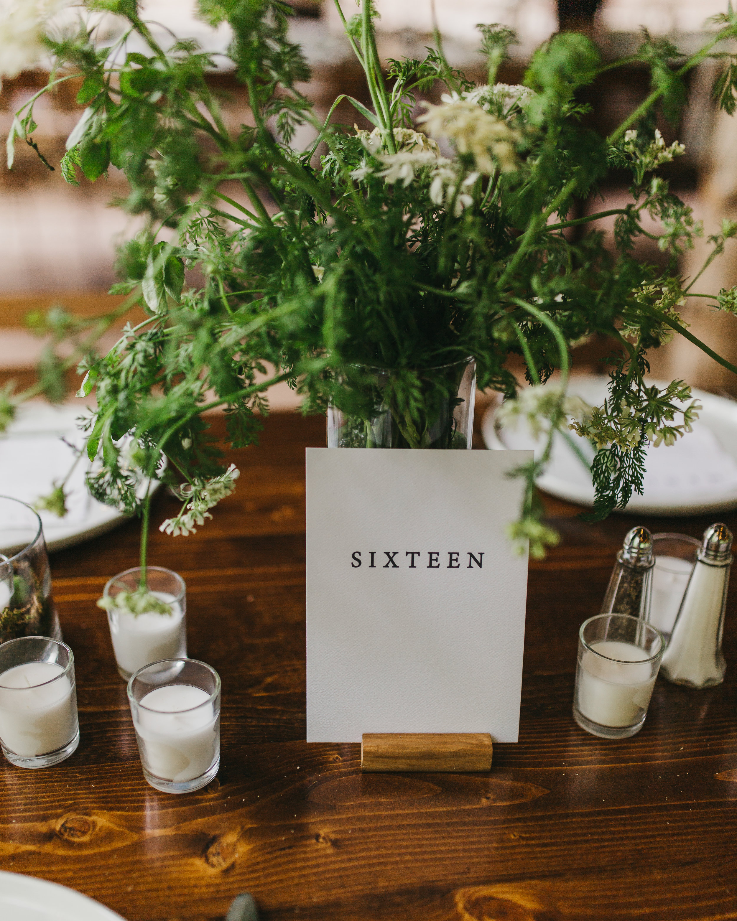 unique table numbers on farmhouse tables