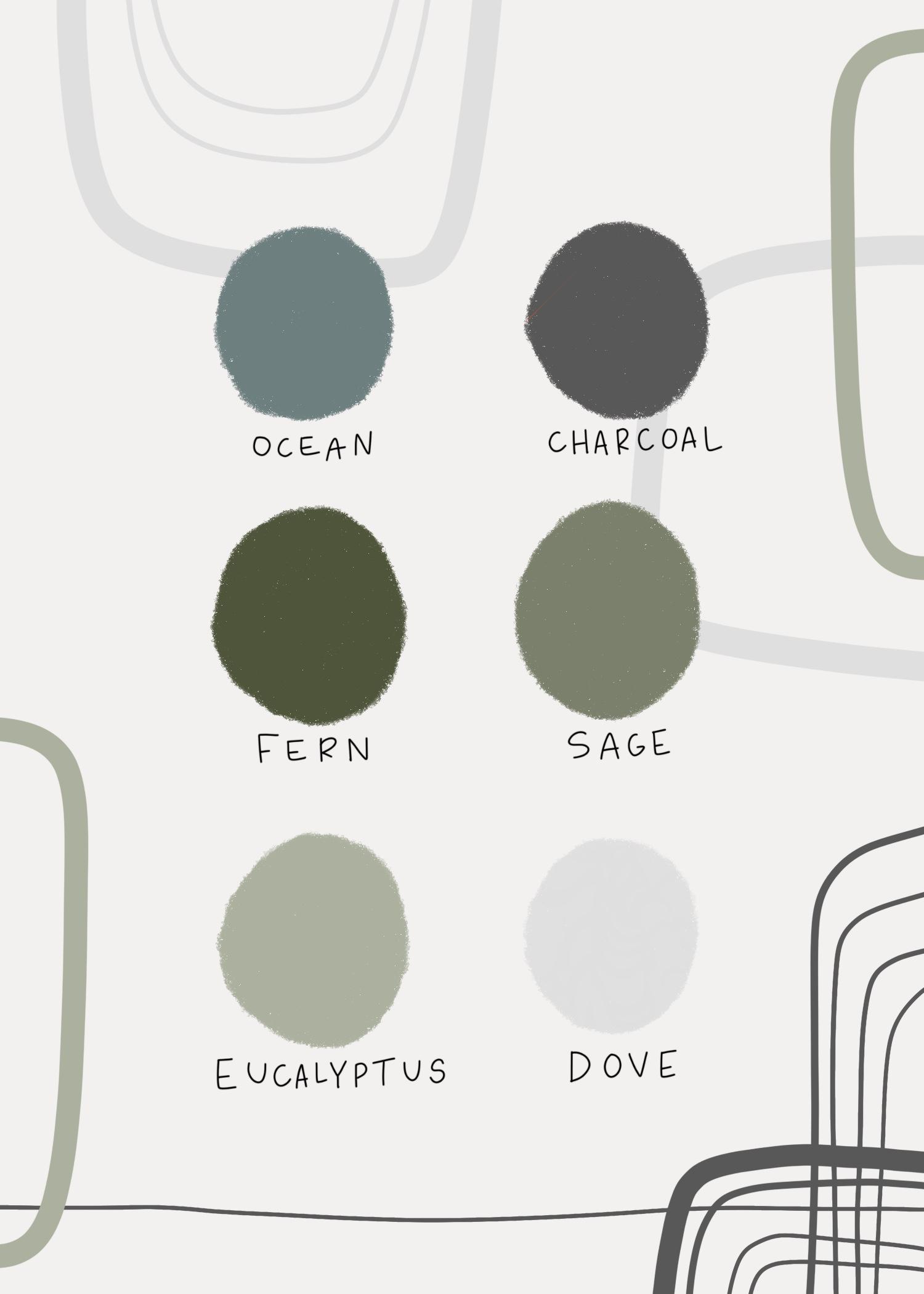 modern wedding color palette. minimal nuetrals