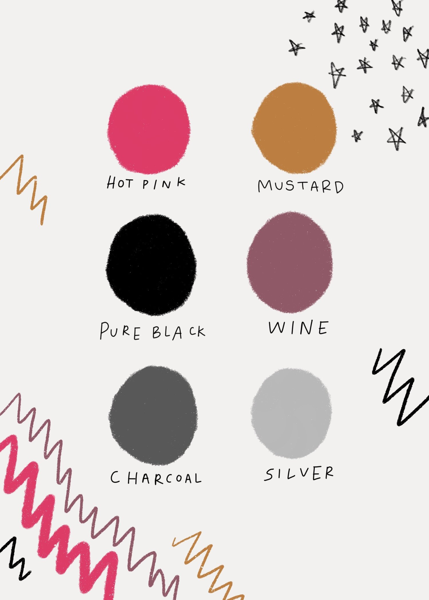 bright and moody color palette for badass wedding or elopement