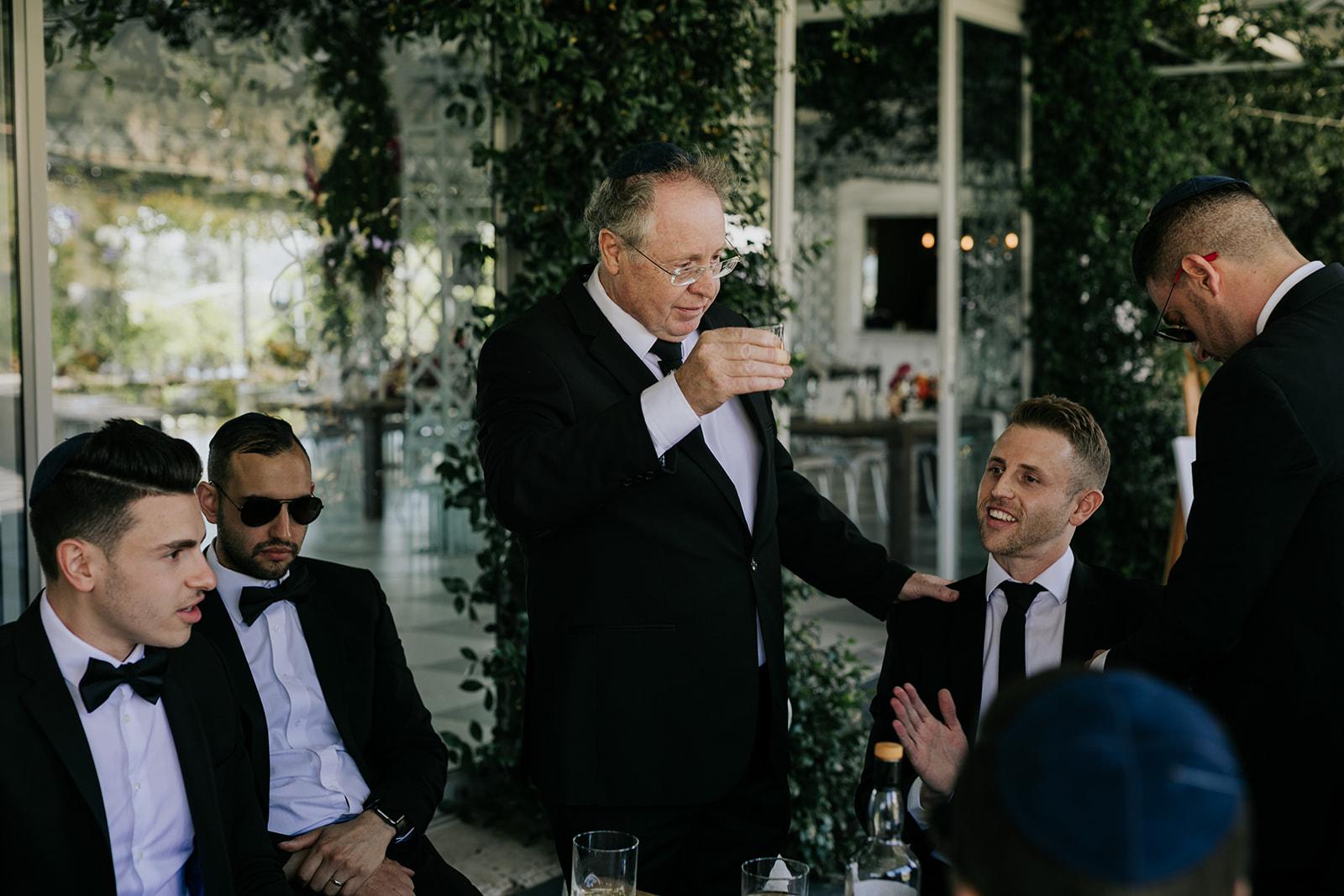 Cape Town wedding florist jewish wedding