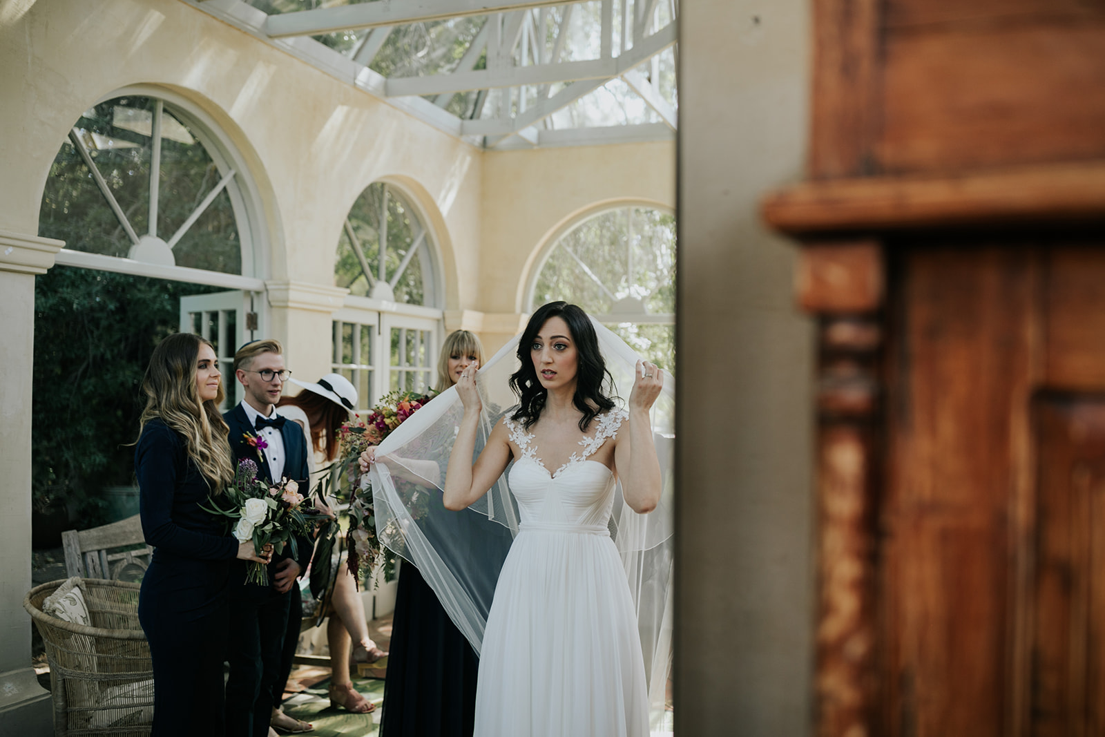 Cape Town wedding bride