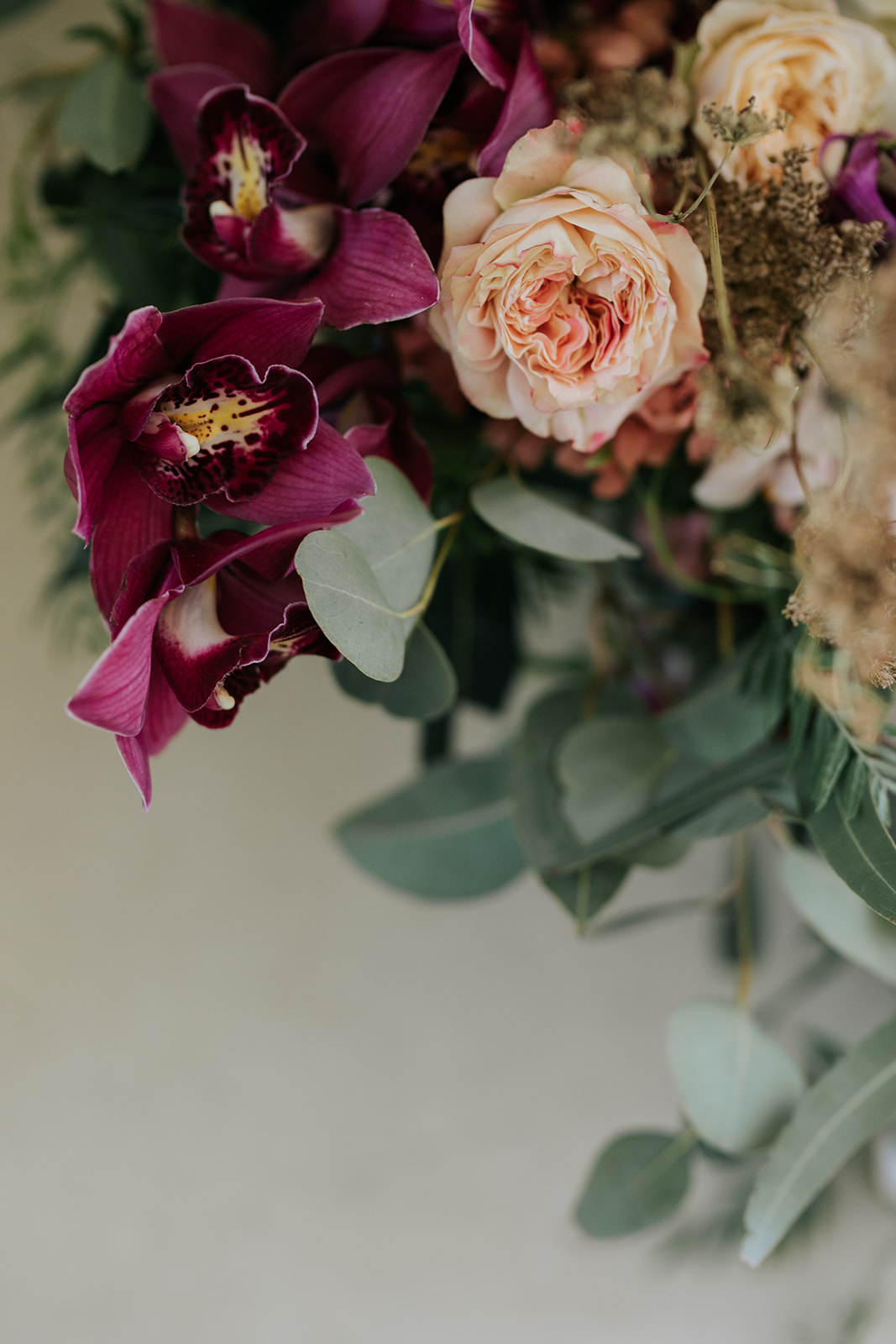 Cape Town wedding luxury flowers orchids