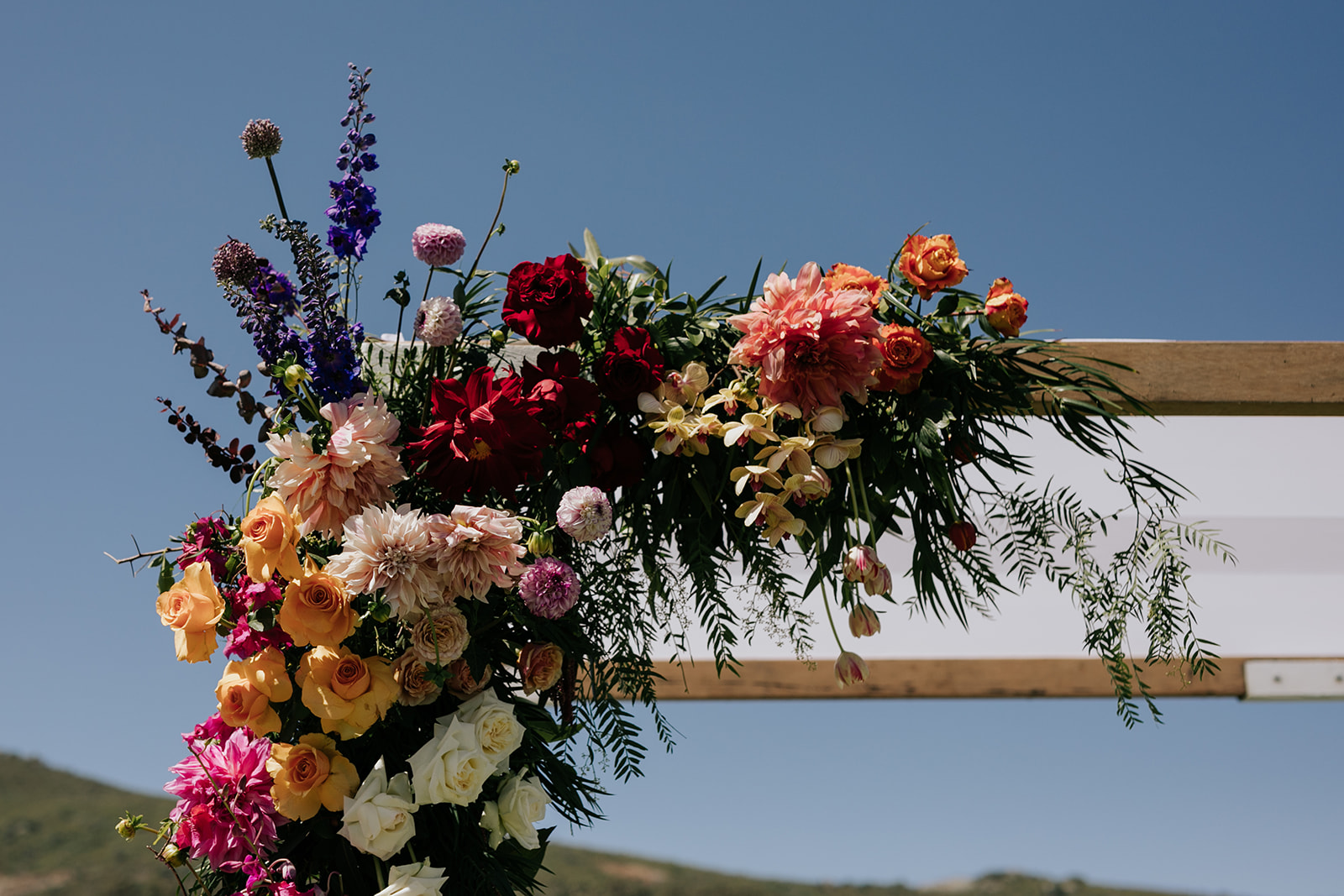 Wildeflower Cape Town wedding luxury flowers