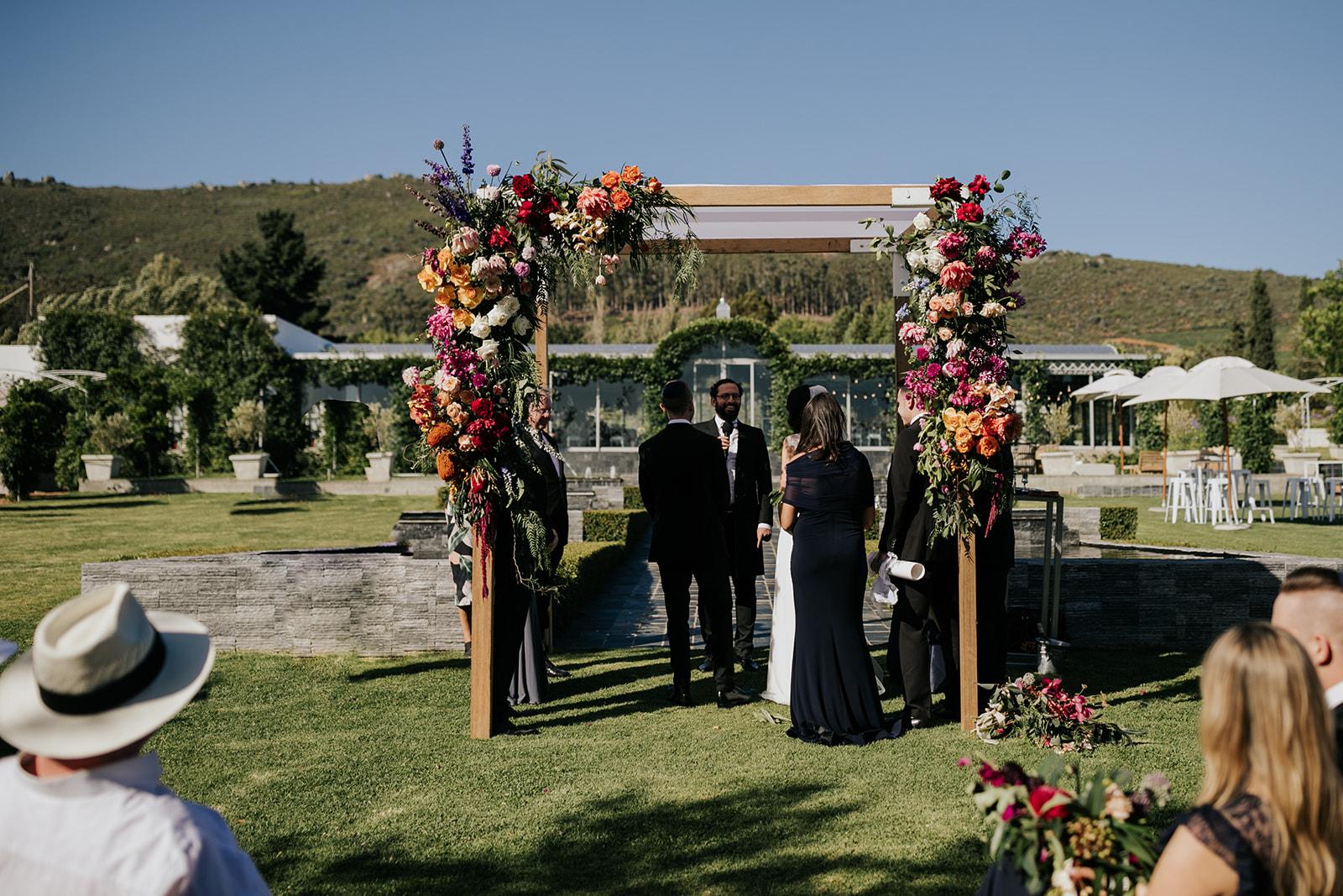 Wildeflower Cape Town wedding luxury flowers 2