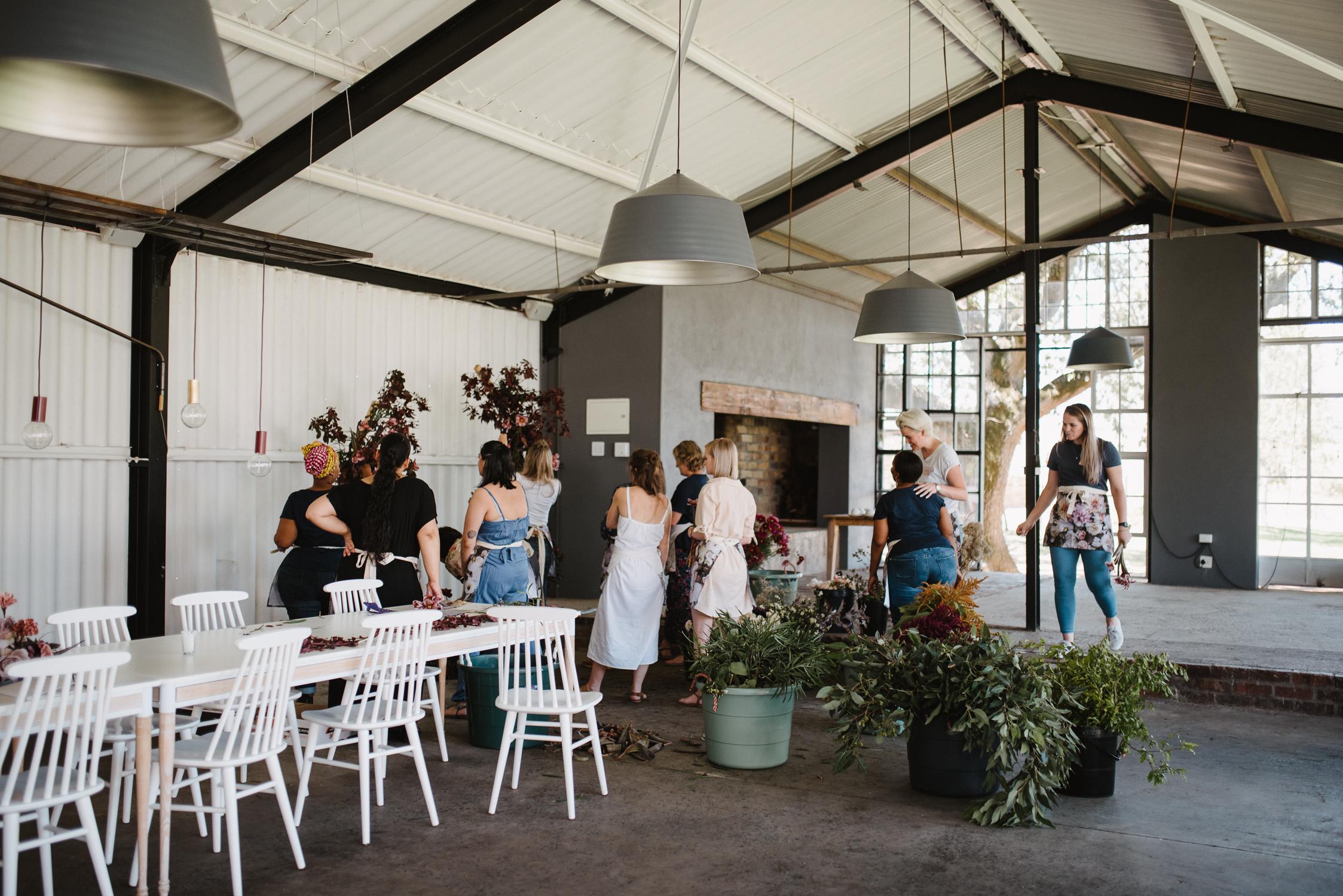 Flower arranging workshops south africa 1