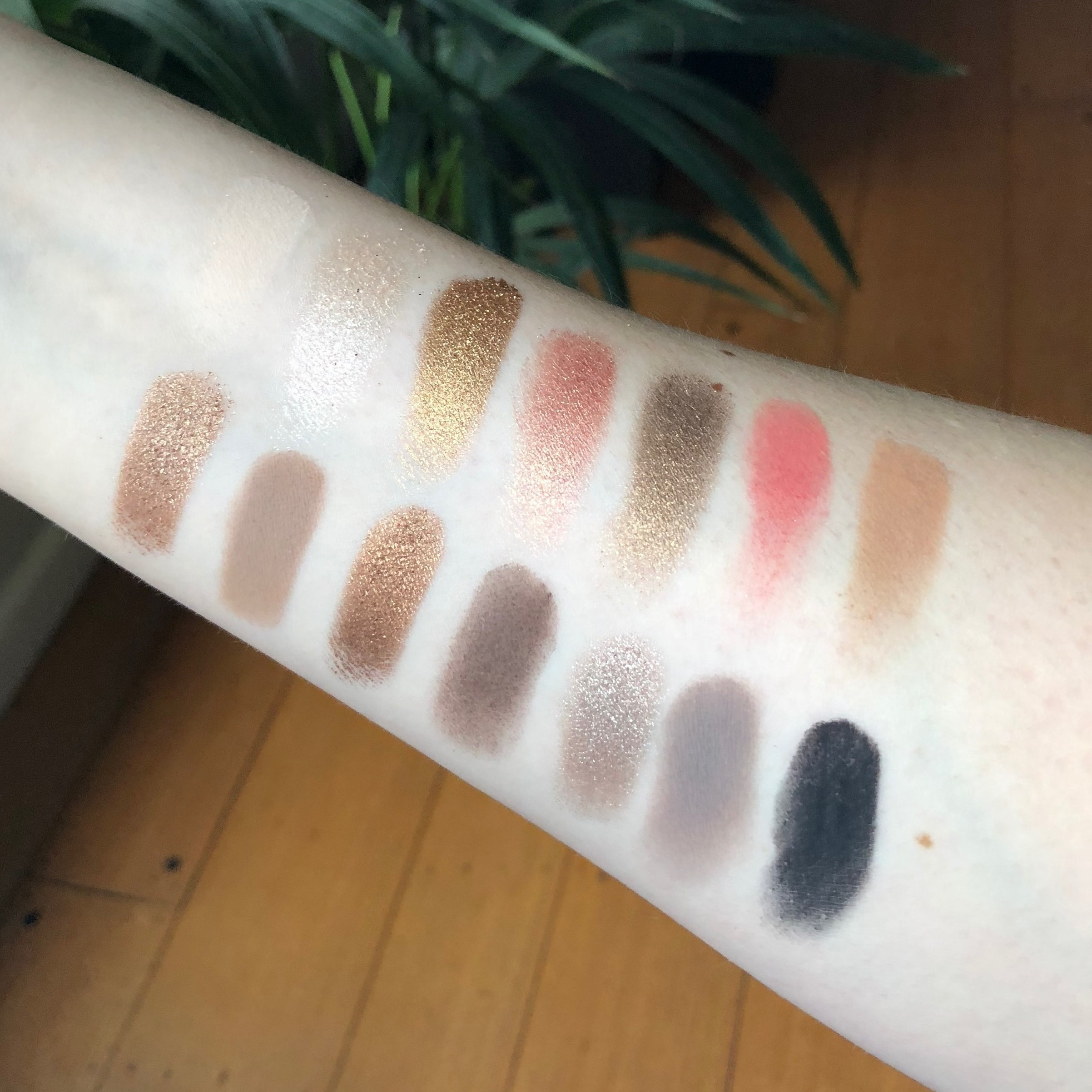 Sultry swatches