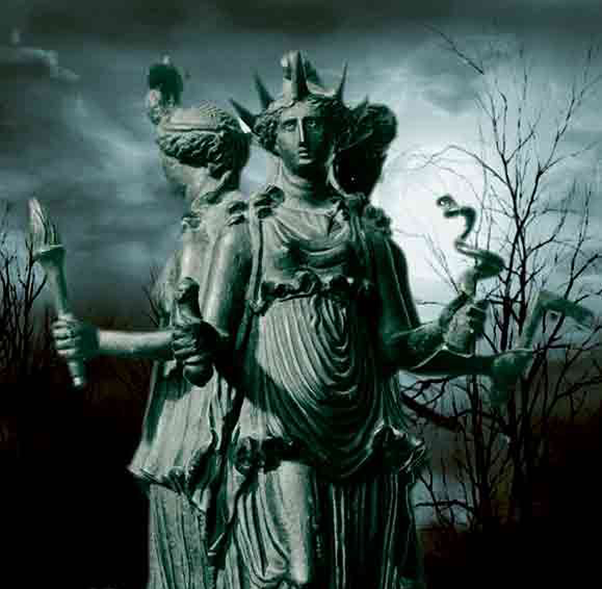 Hekate - Mother of All and goddess of Magic and the Underworld.