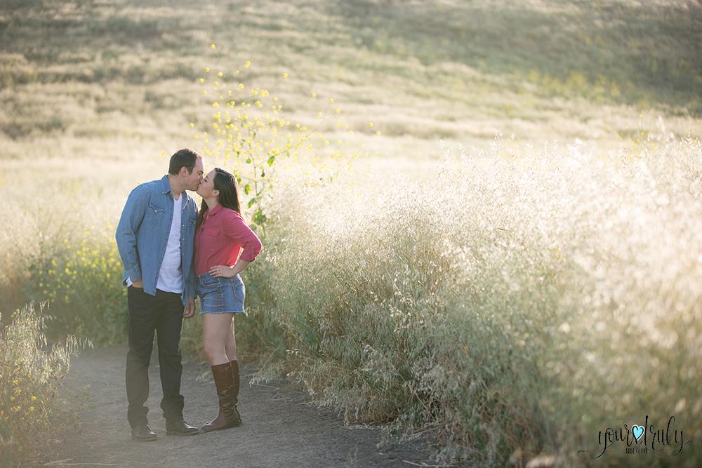 Engagement Photography Services, Orange County, CA - Engaged couple enjoying the outdoors.