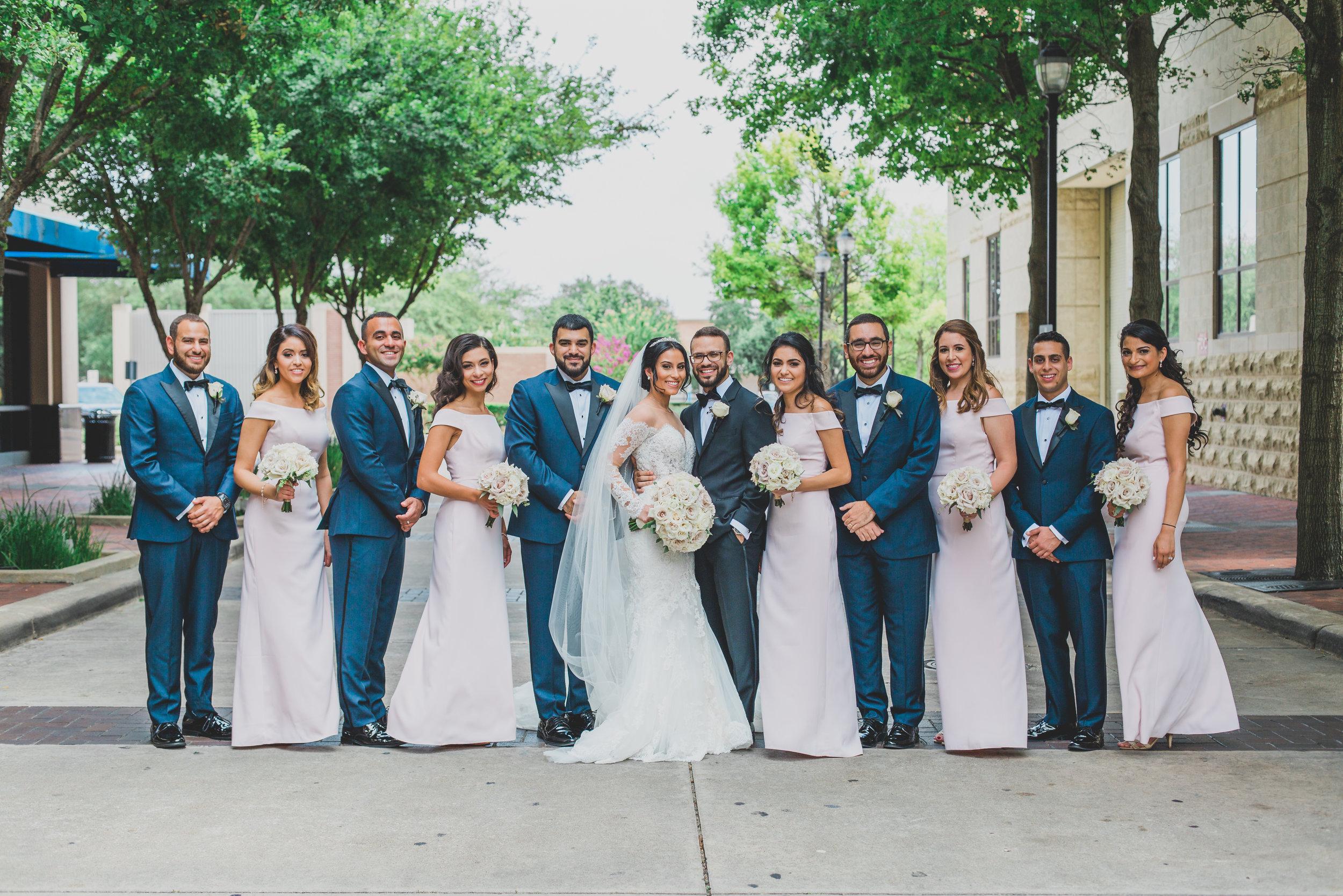 sugar-land-tx-wedding-photography-marriott-bridal-party