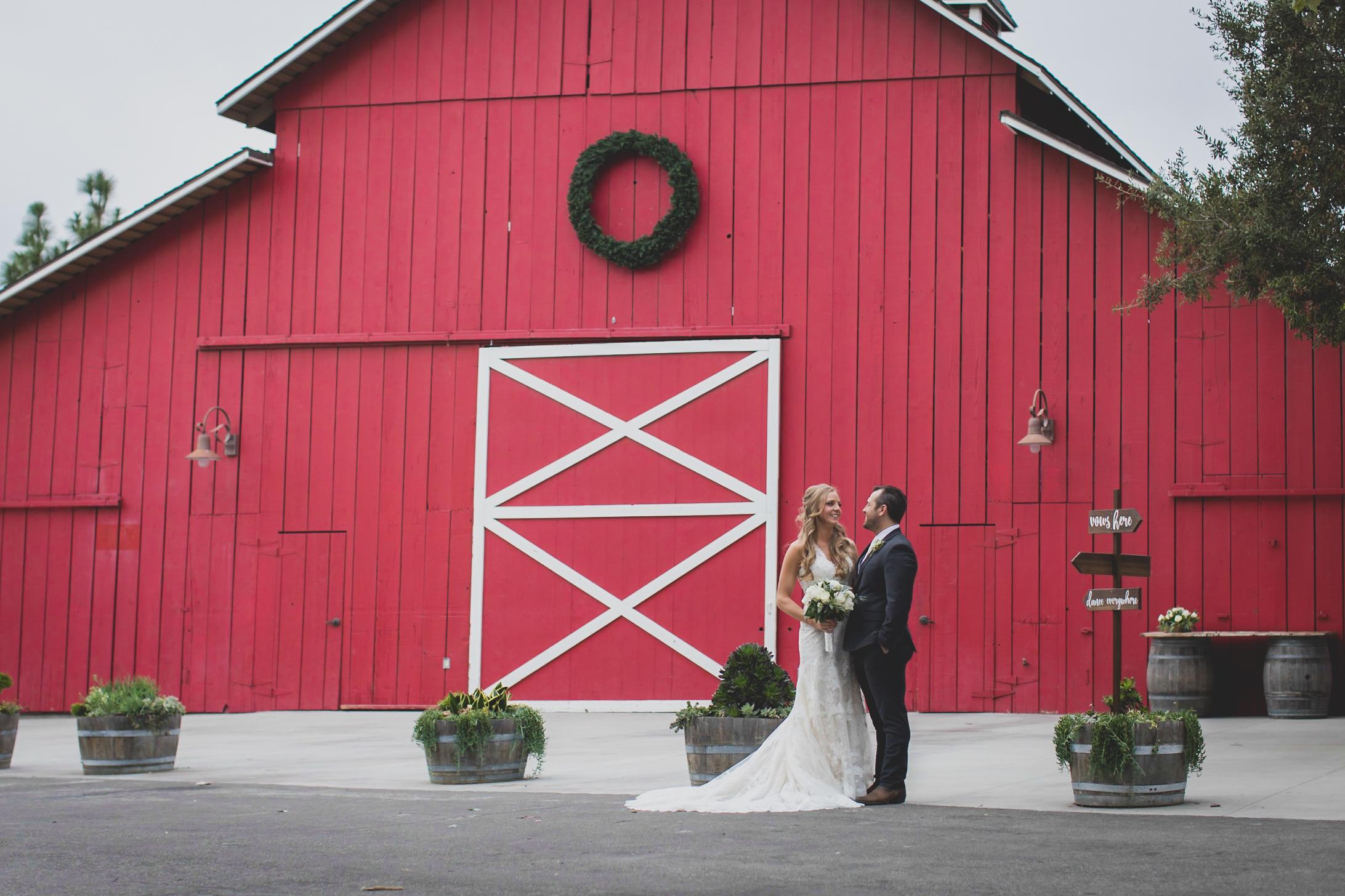 Camarillo Ranch - Camarillo, CA Wedding Venue - Bride and Groom Couples Photoshoot