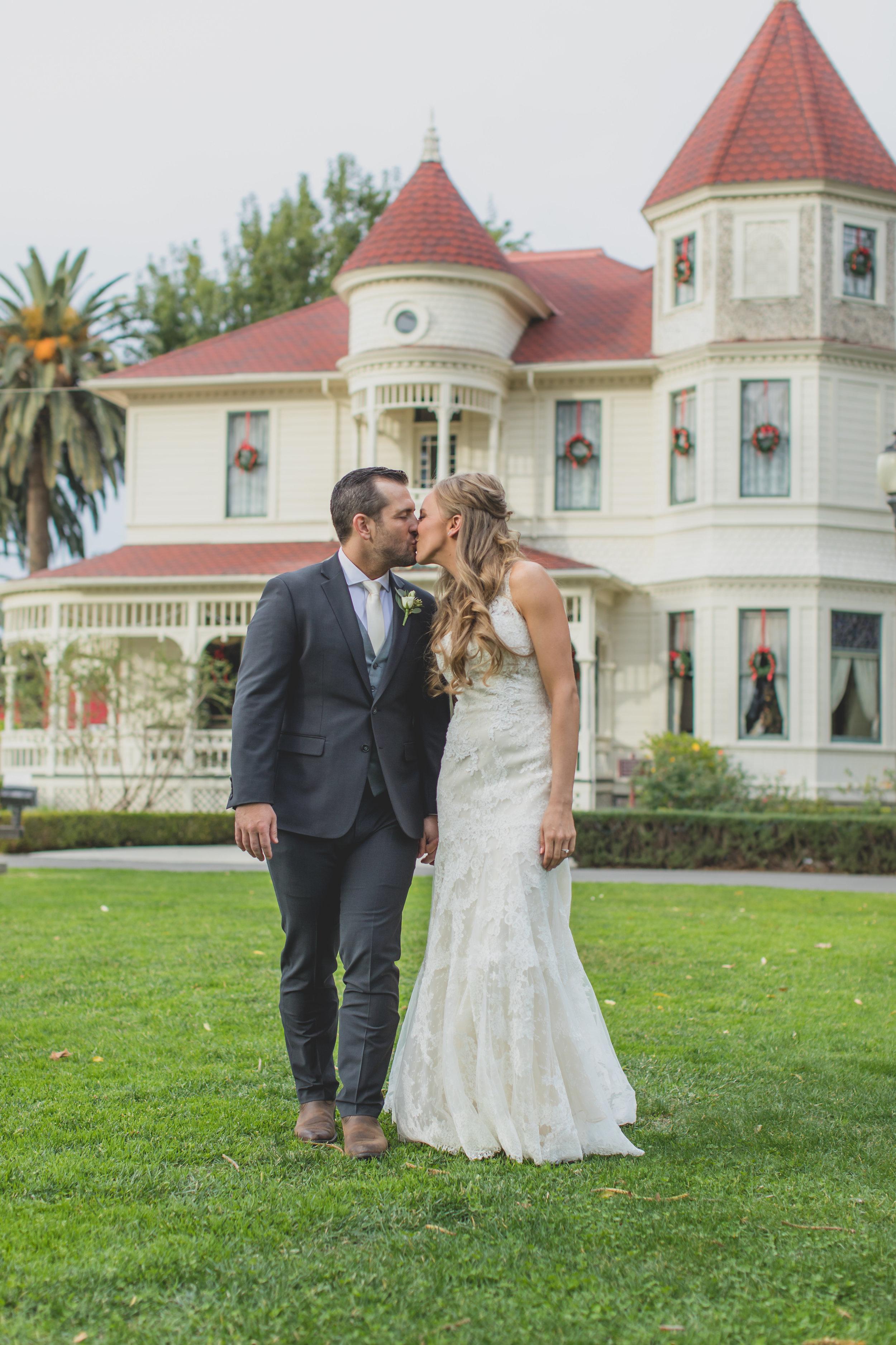 Camarillo Ranch - Camarillo, CA Wedding Venue - Wedding Photography Bride and Groom
