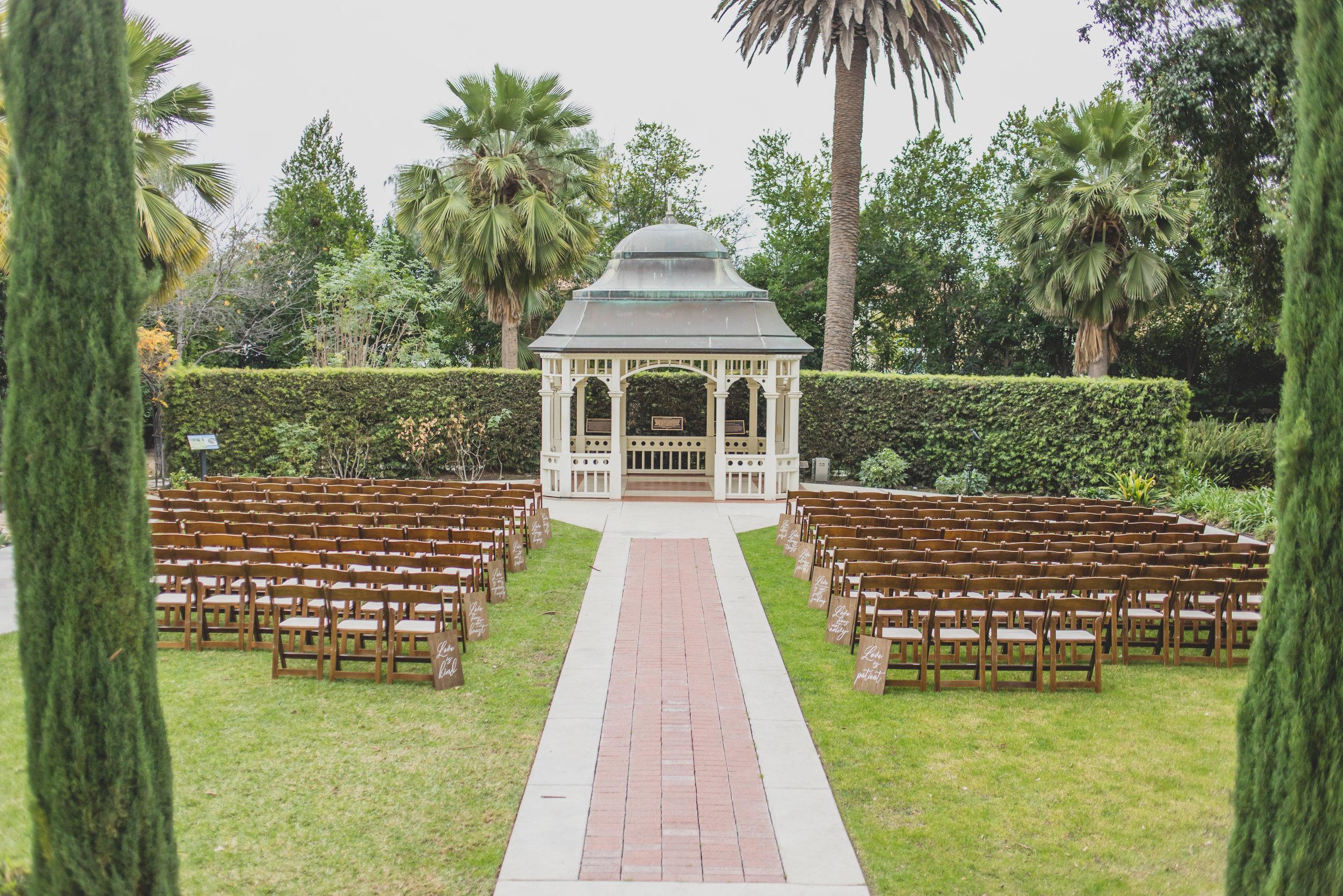 Camarillo Ranch - Camarillo, CA Wedding Venue - Wedding Ceremony Location