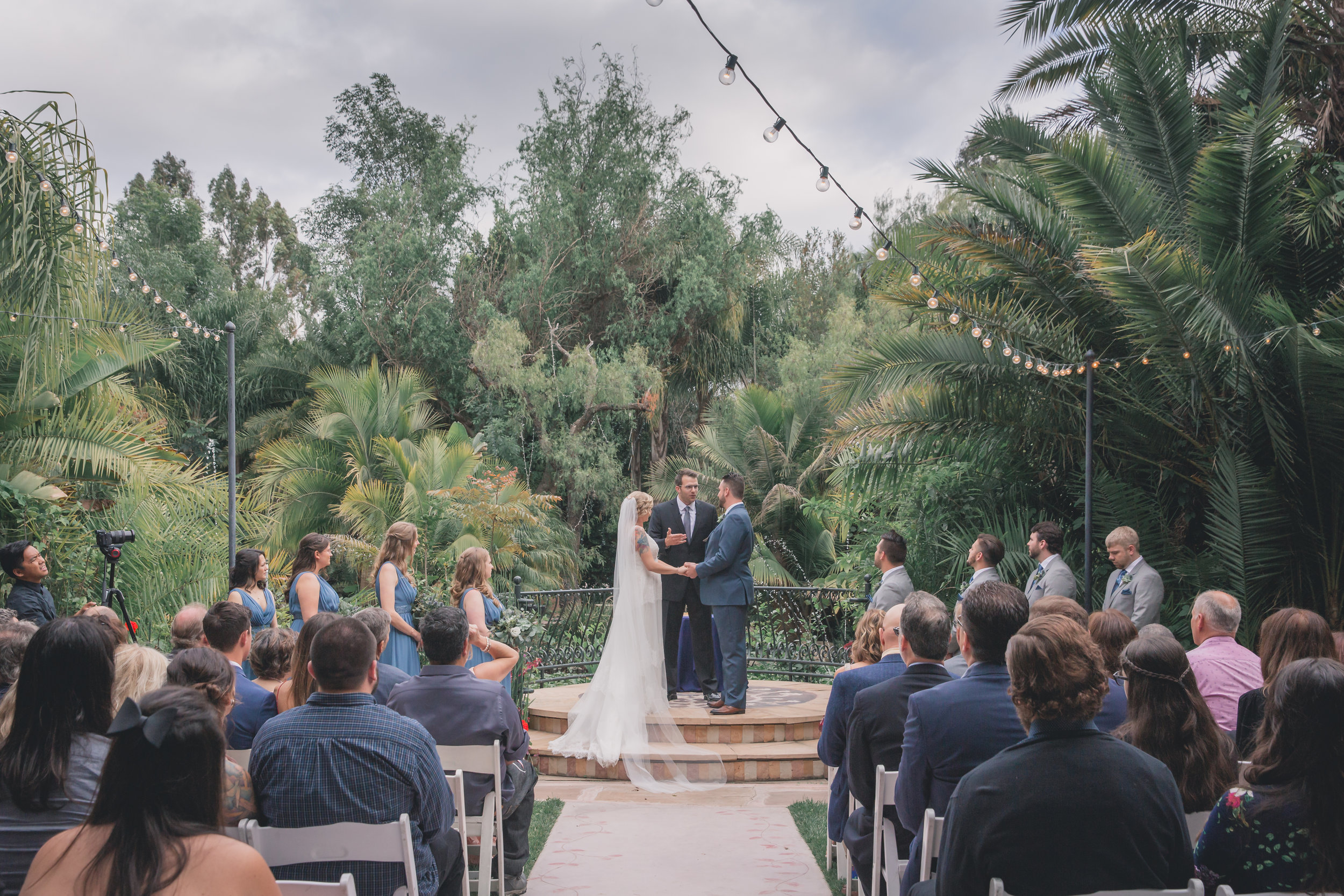 Wedding Photography - Edens Gardens, Moorpark California Wedding Venue - Wedding Ceremony