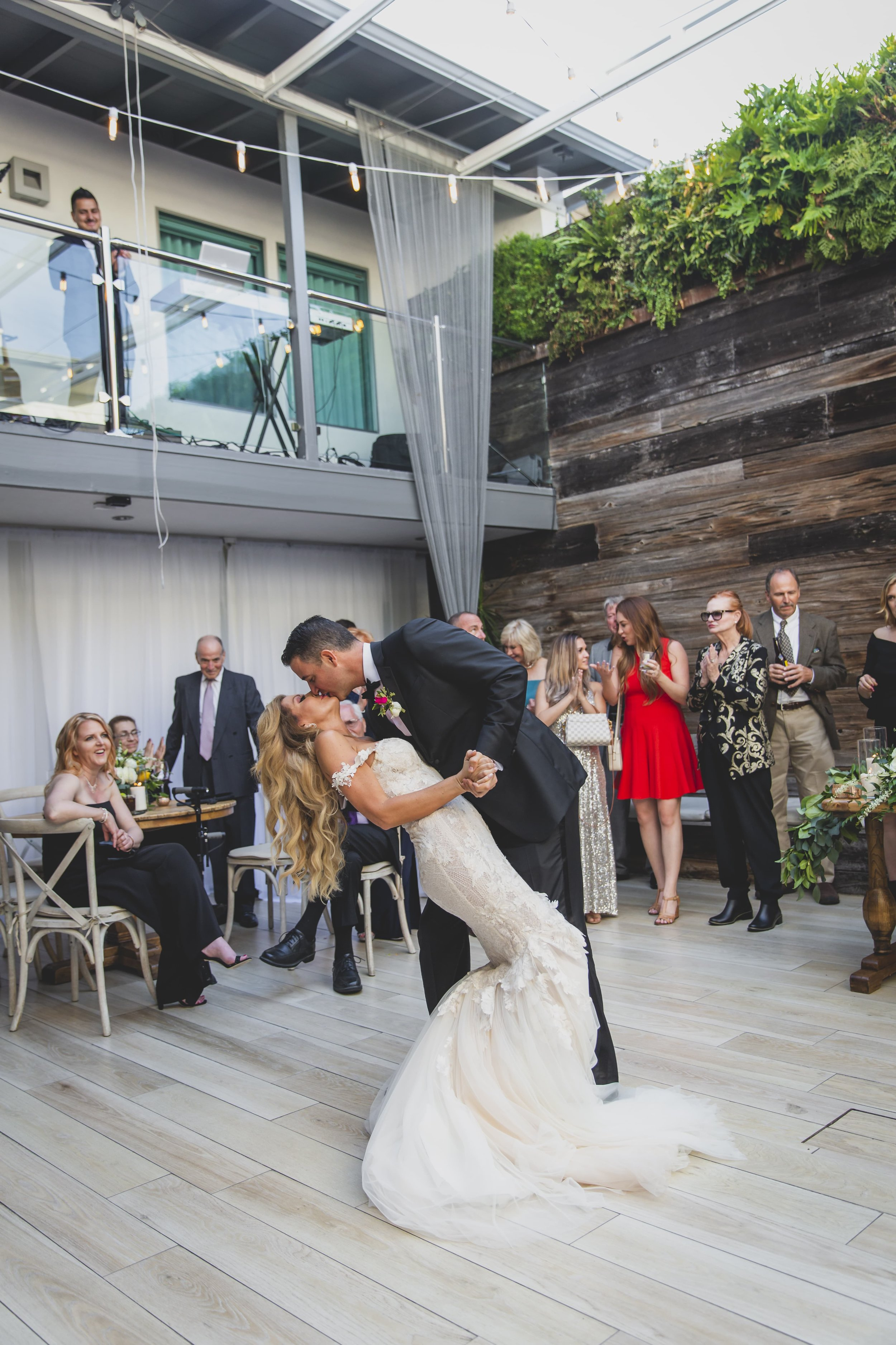 Wedding Photography Packages - Heritage Park, Dana Point, CA - Bride and groom dancing at the wedding reception.