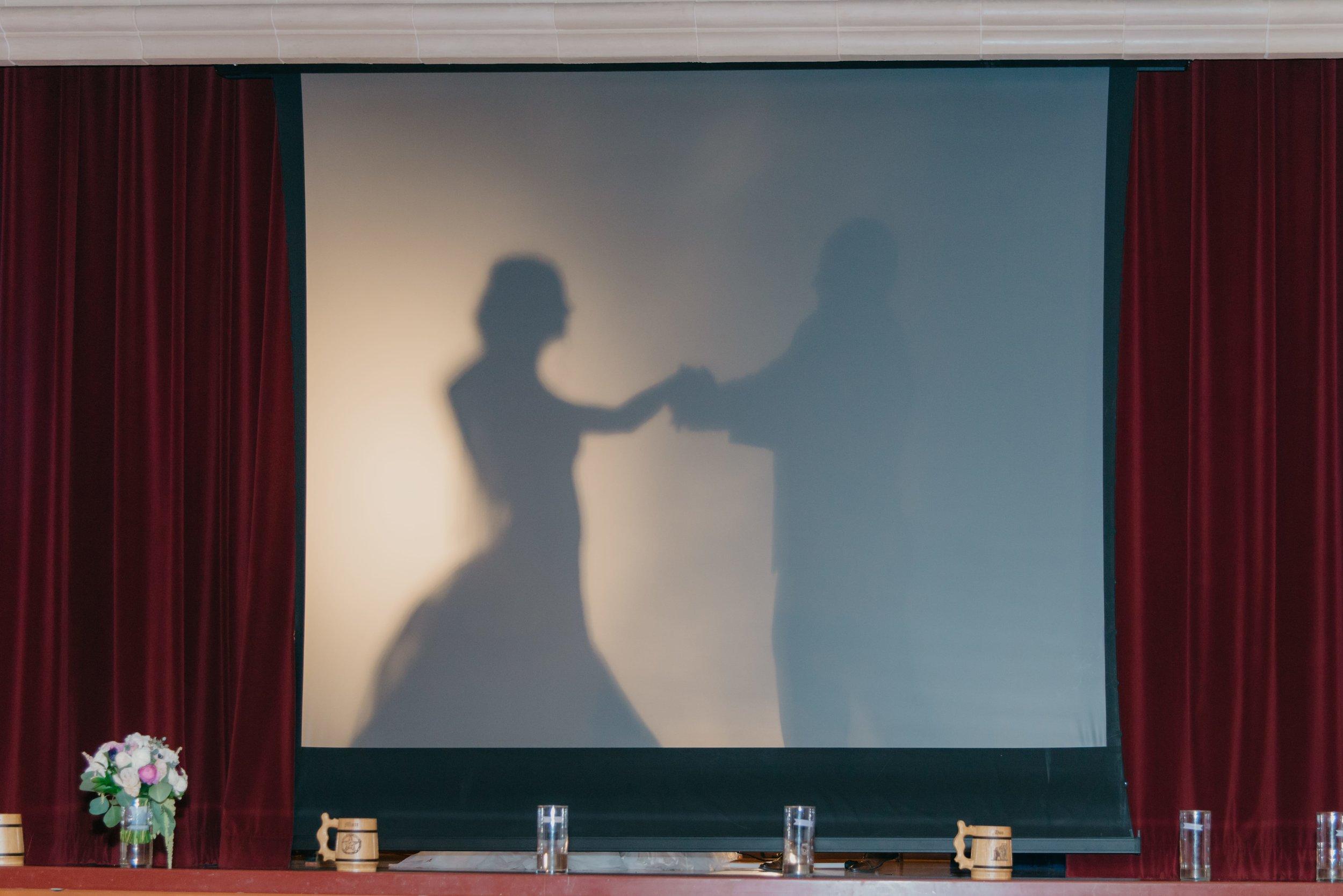 Wedding Cocktail Hour Entertainment - Slideshow of the Couple - Wedding Video