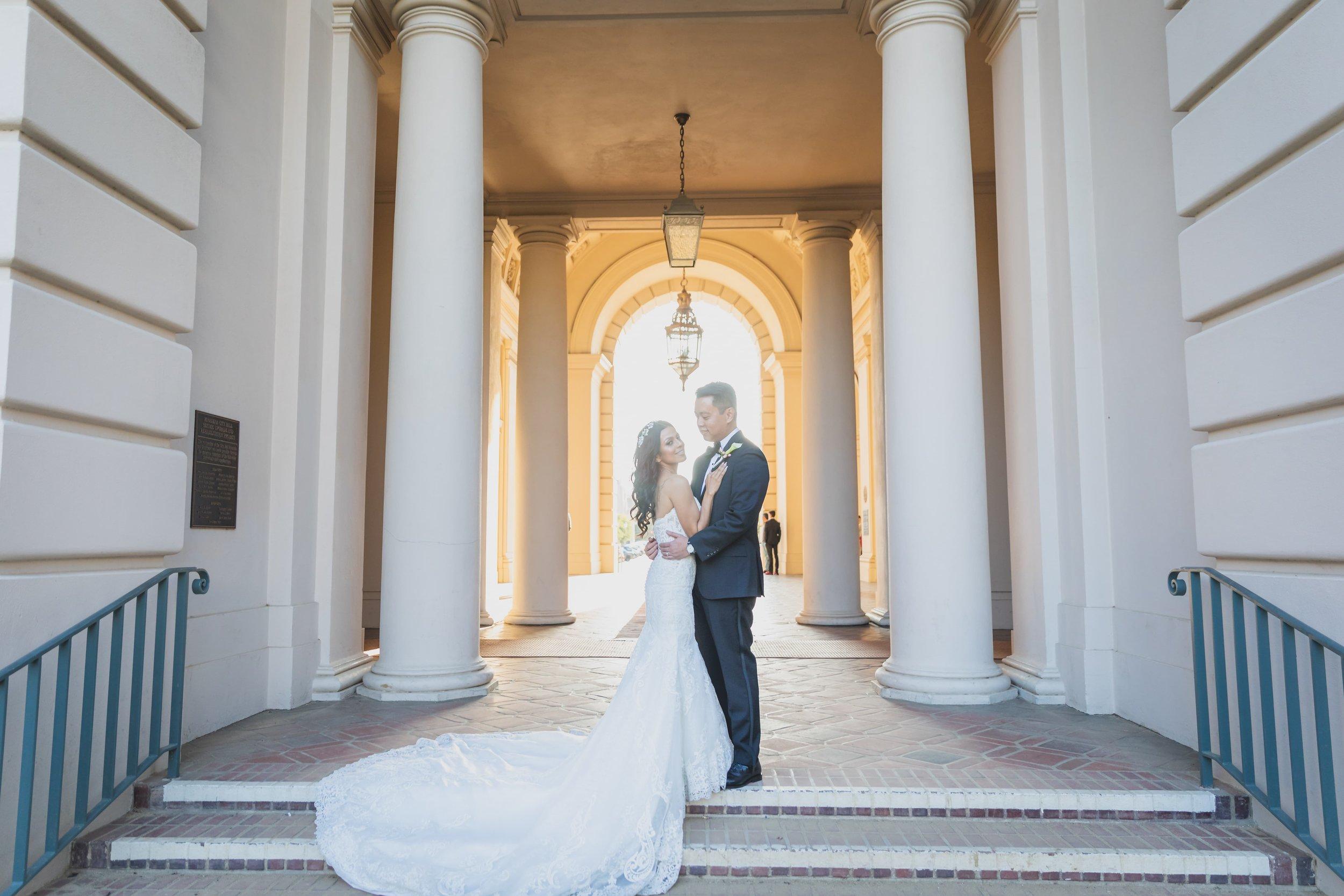 Wedding Photography - Something Old, Something New, Something Borrowed, Something Blue - Bride and groom post-ceremony photoshoot