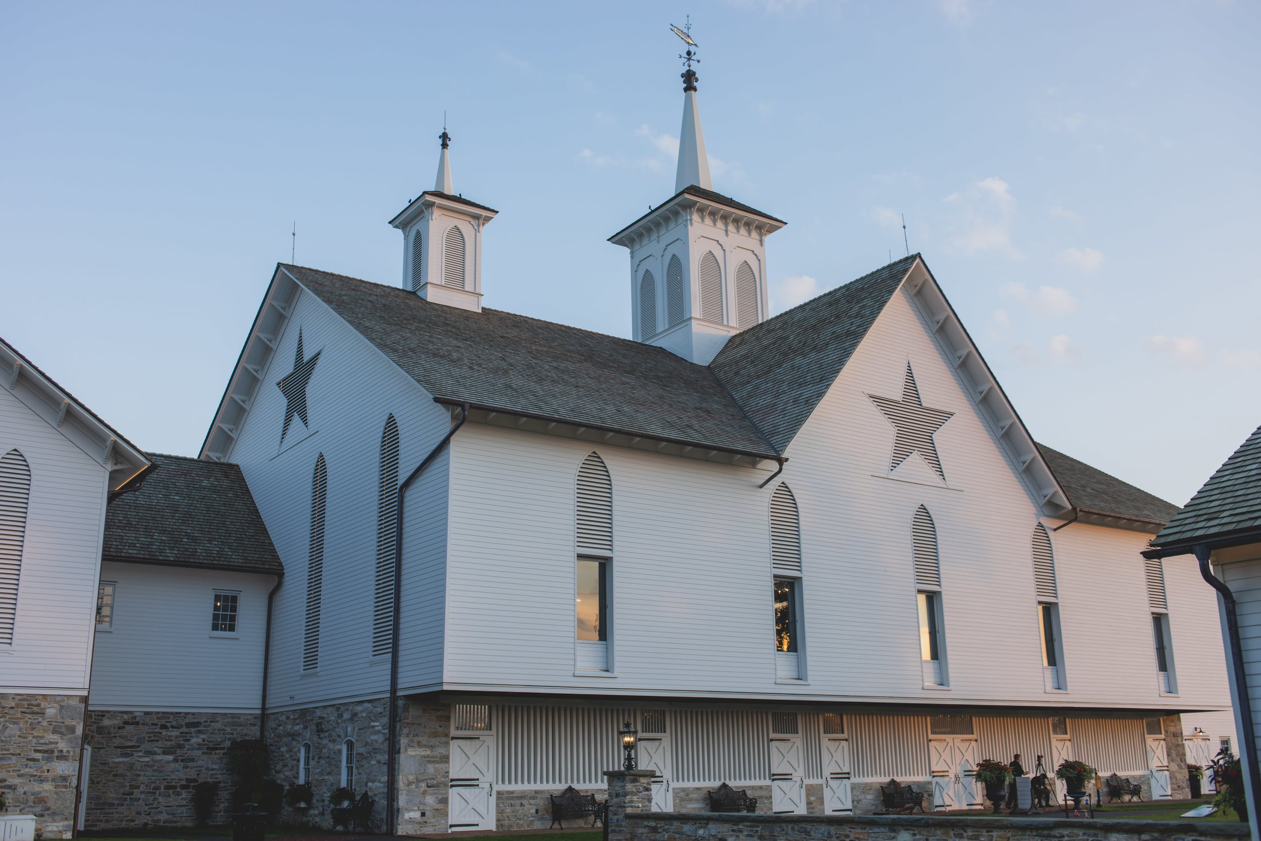 The star barn in Elizabethtown, PA