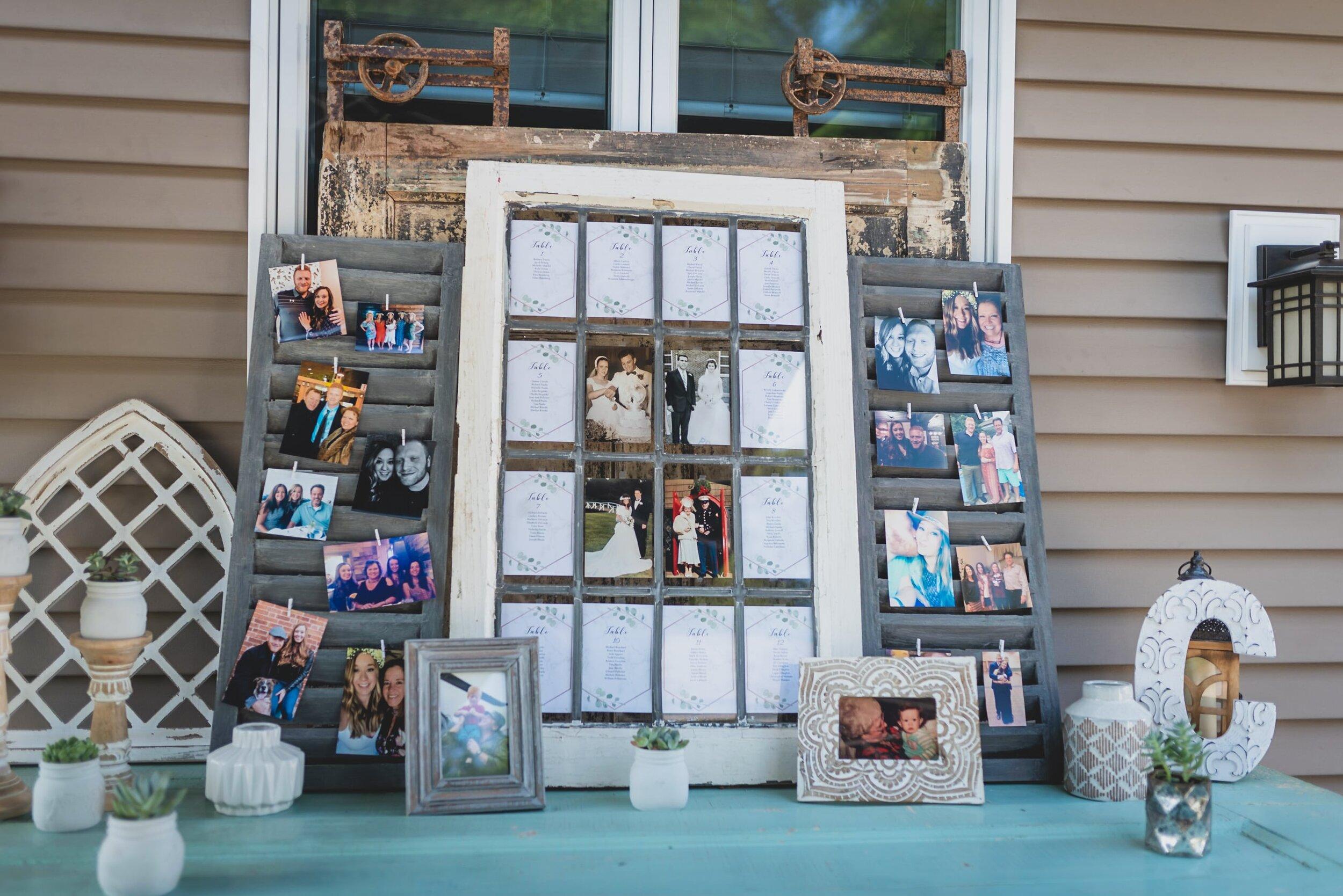 backyard-wedding-ideas-welcome-table