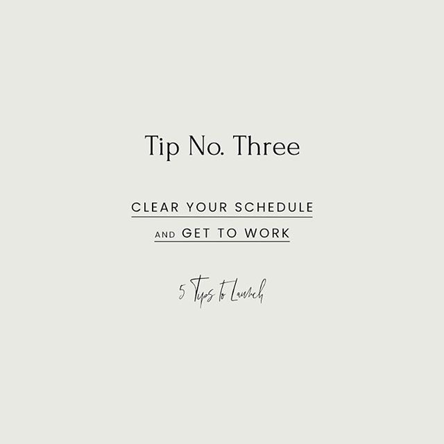 """LAUNCH TIP NO. 3 ⠀⠀⠀⠀⠀⠀⠀⠀⠀ Get. To. Work. Girl. ⠀⠀⠀⠀⠀⠀⠀⠀⠀ There's a good chance you're working on your launch while you're in school/working FT/taking care of littles. In order to make this launch actually happen (or to keep you from working constantly, in little 10 minute increments, like I've done), I recommend blocking out """"office hours"""". ⠀⠀⠀⠀⠀⠀⠀⠀⠀ Get clear with your family and organize child care if necessary, say no to coffee dates with friends if they fall during those times, and put on some real big-girl clothes. It's workin time. ⠀⠀⠀⠀⠀⠀⠀⠀⠀ Whether it's at home or at a cafe, a full 8 hours or just 1 during nap time, take your office hours seriously and get to work! You'll be amazed at how much you can get done when you're in a working headspace. ⠀⠀⠀⠀⠀⠀⠀⠀⠀ Talk to me about your working habits! Are you nailing it, or do you find it hard to get focused work on your business in sometimes? ⠀⠀⠀⠀⠀⠀⠀⠀⠀ ⠀⠀⠀⠀⠀⠀⠀⠀⠀ #vsco#vscocam#shopsmall#kwawesome#thingstodokw#ownyoureveryday#alwaysmore#meetthemaker#etsykw#etsycanada"""