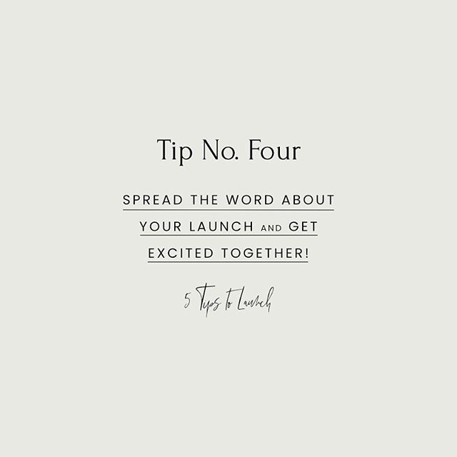 LAUNCH TIP NO. 4 ⠀⠀⠀⠀⠀⠀⠀⠀⠀ Spread the word about your launch and get excited together! ⠀⠀⠀⠀⠀⠀⠀⠀⠀ For this tip I want to focus on your in-person community. In today's world it's easy to get caught up in the digital sphere, but the power of a local network canNOT be underestimated! ⠀⠀⠀⠀⠀⠀⠀⠀⠀ Once you've got your launch date set, think about how you can involve your community. Send post cards or gift cards to key supporters? Host a drop in event with other local businesses? ⠀⠀⠀⠀⠀⠀⠀⠀⠀ Your people WANT to support you, to champion you, and to be your best marketers. Don't forget to involve them in your process and be excited together! 🕺🏻💃🏻 #vsco#vscocam#shopsmall#kwawesome#thingstodokw#ownyoureveryday#alwaysmore#meetthemaker#etsykw#etsycanada