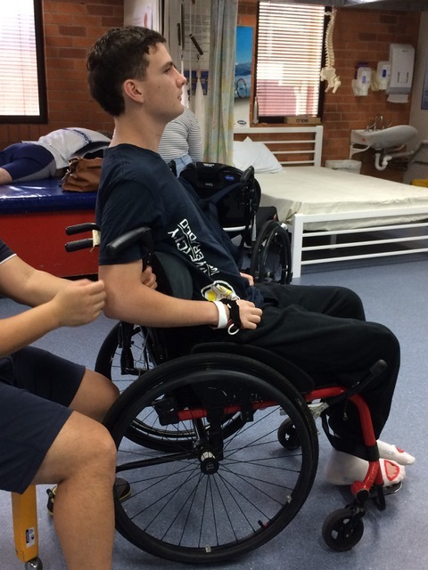 Conor ready for first manual wheelchair.jpeg