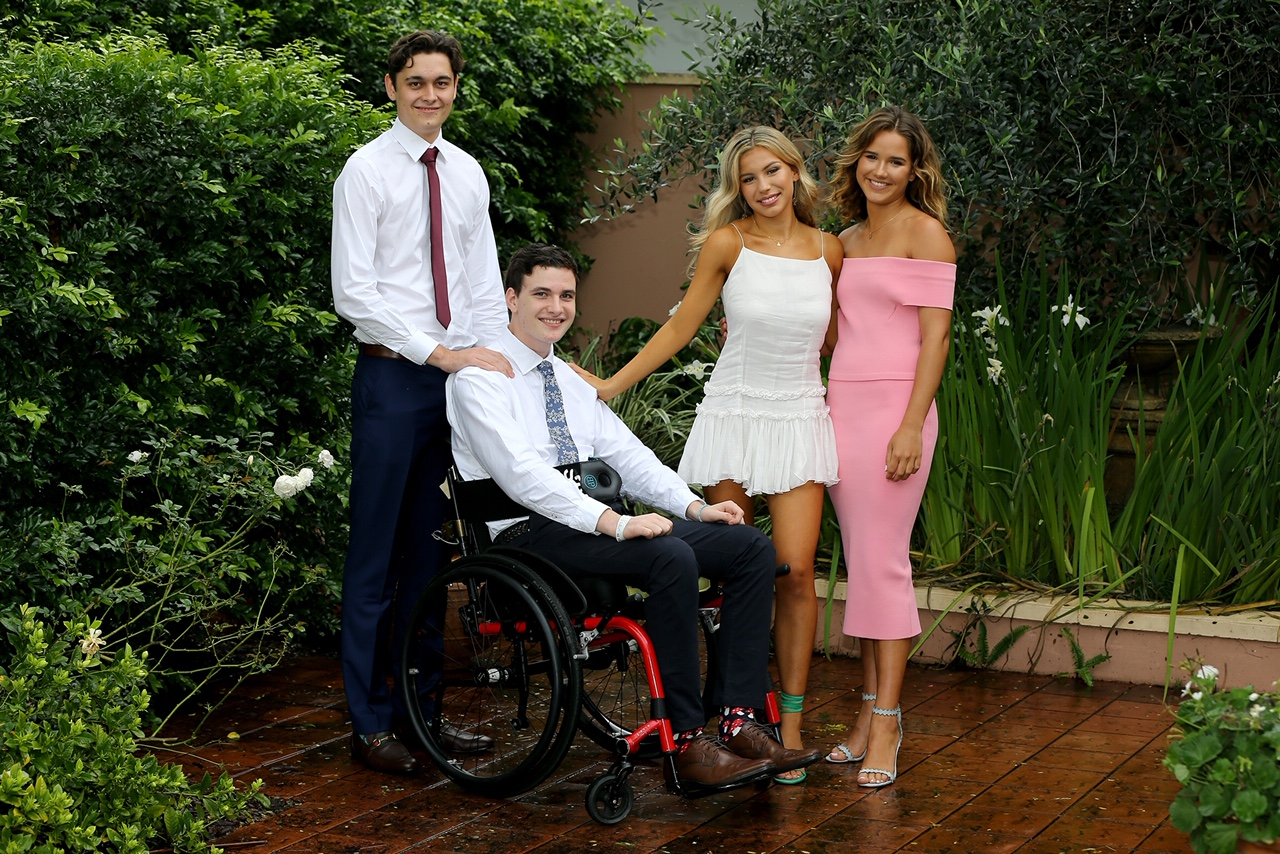 Conor and Alexandra with Jimmy (Left) and Sammy (Right)