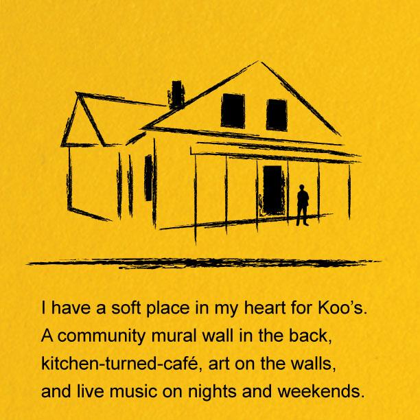 - Koo's Cafe, Costa Mesa, CA— September 1997