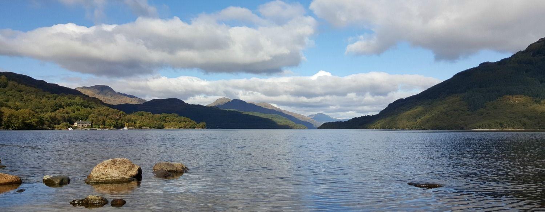 Loch Lomond looking north.