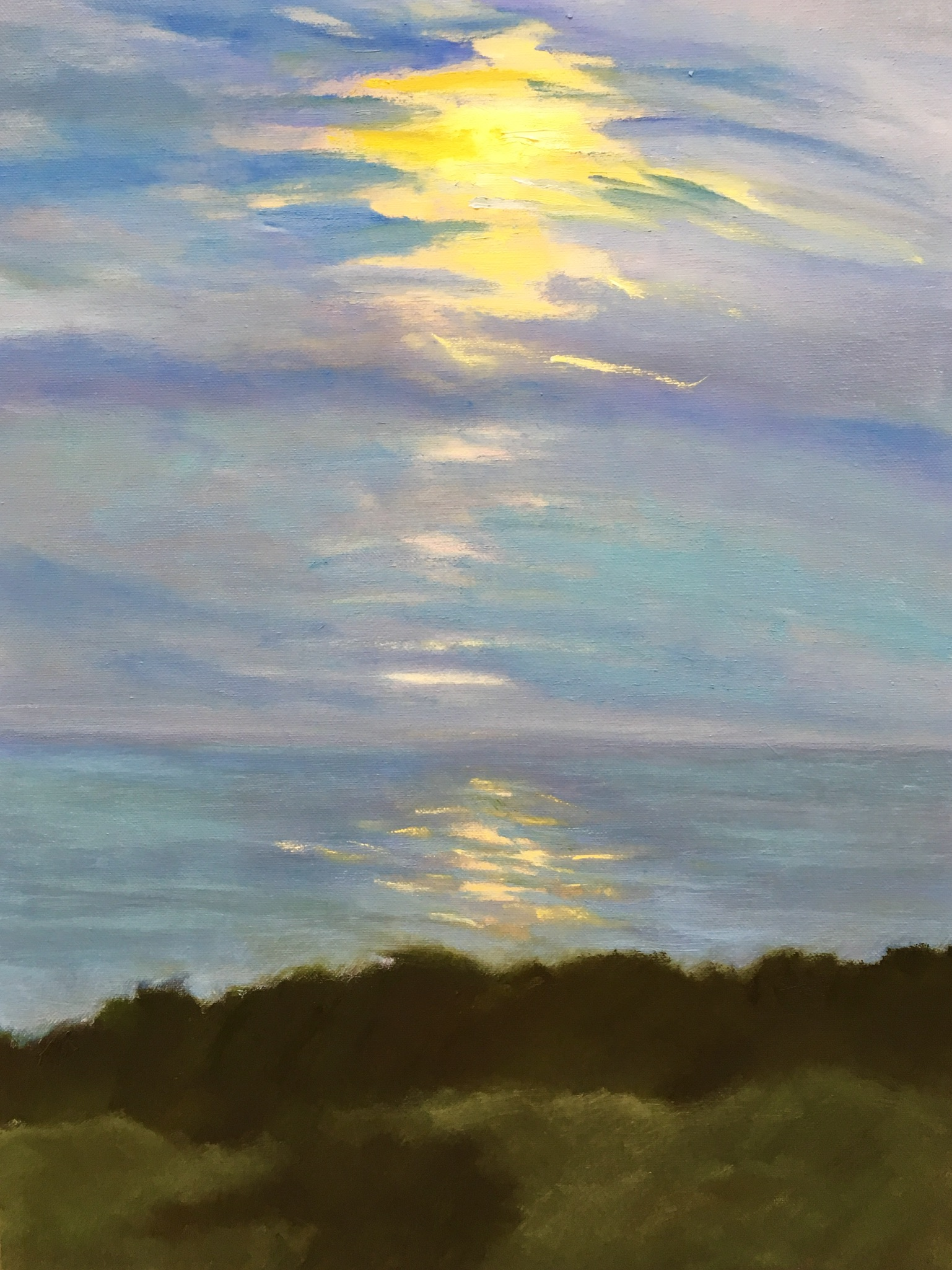 """Provincetown Sunset"" 