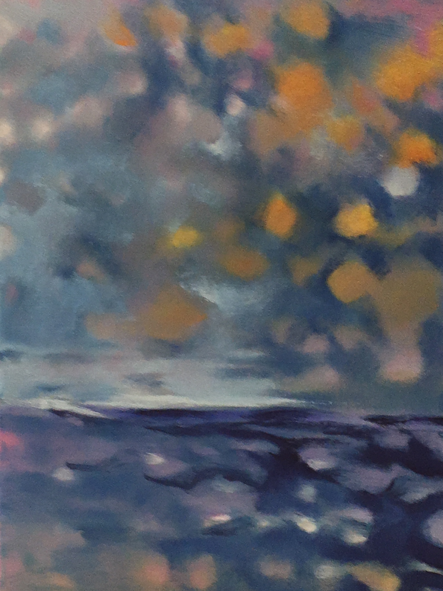 """Mottled Sky And Water"" 