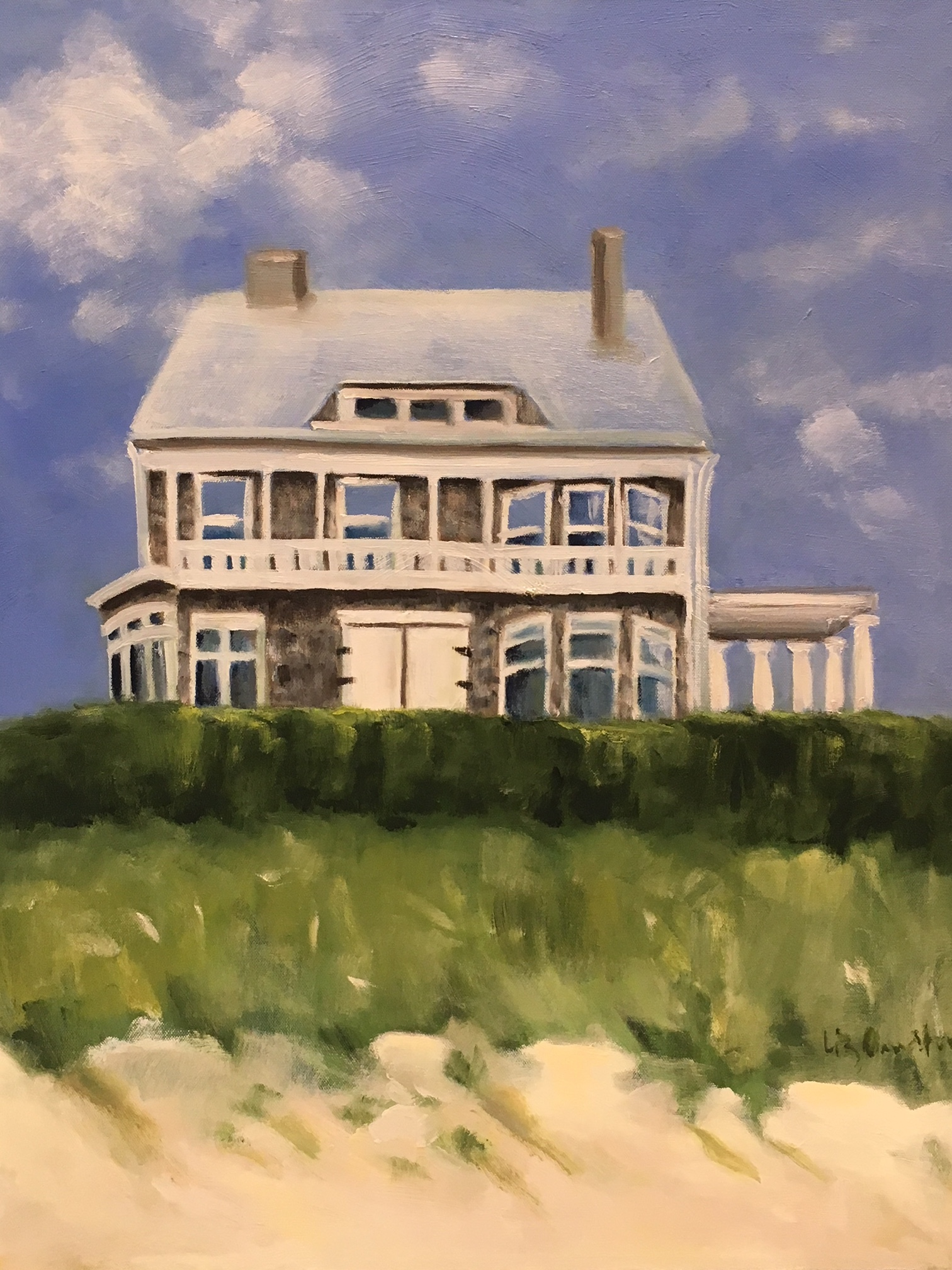 """Double Chimney Beach House"" 