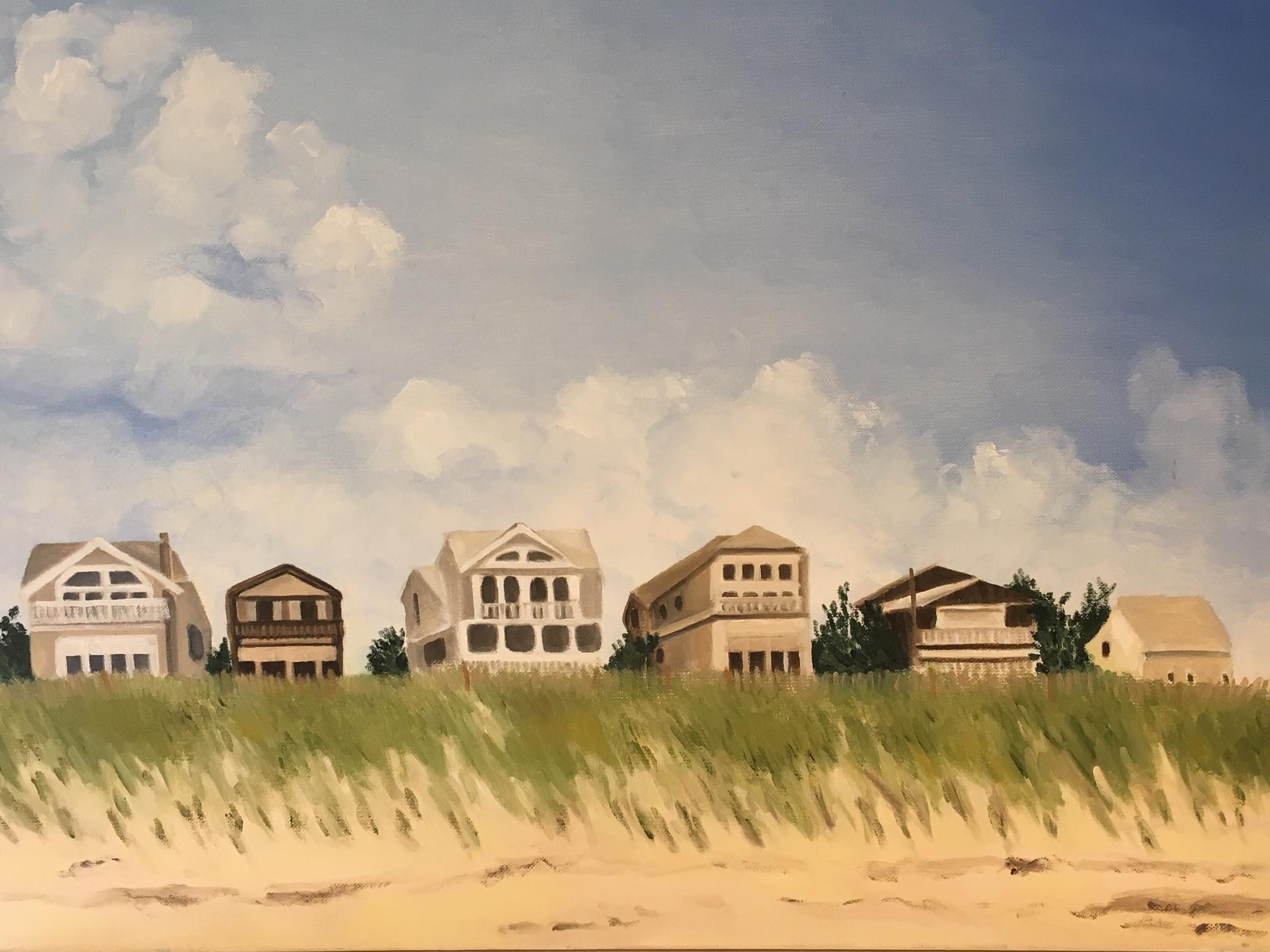 """Ocean Village""   Oil On Canvas   20x24"
