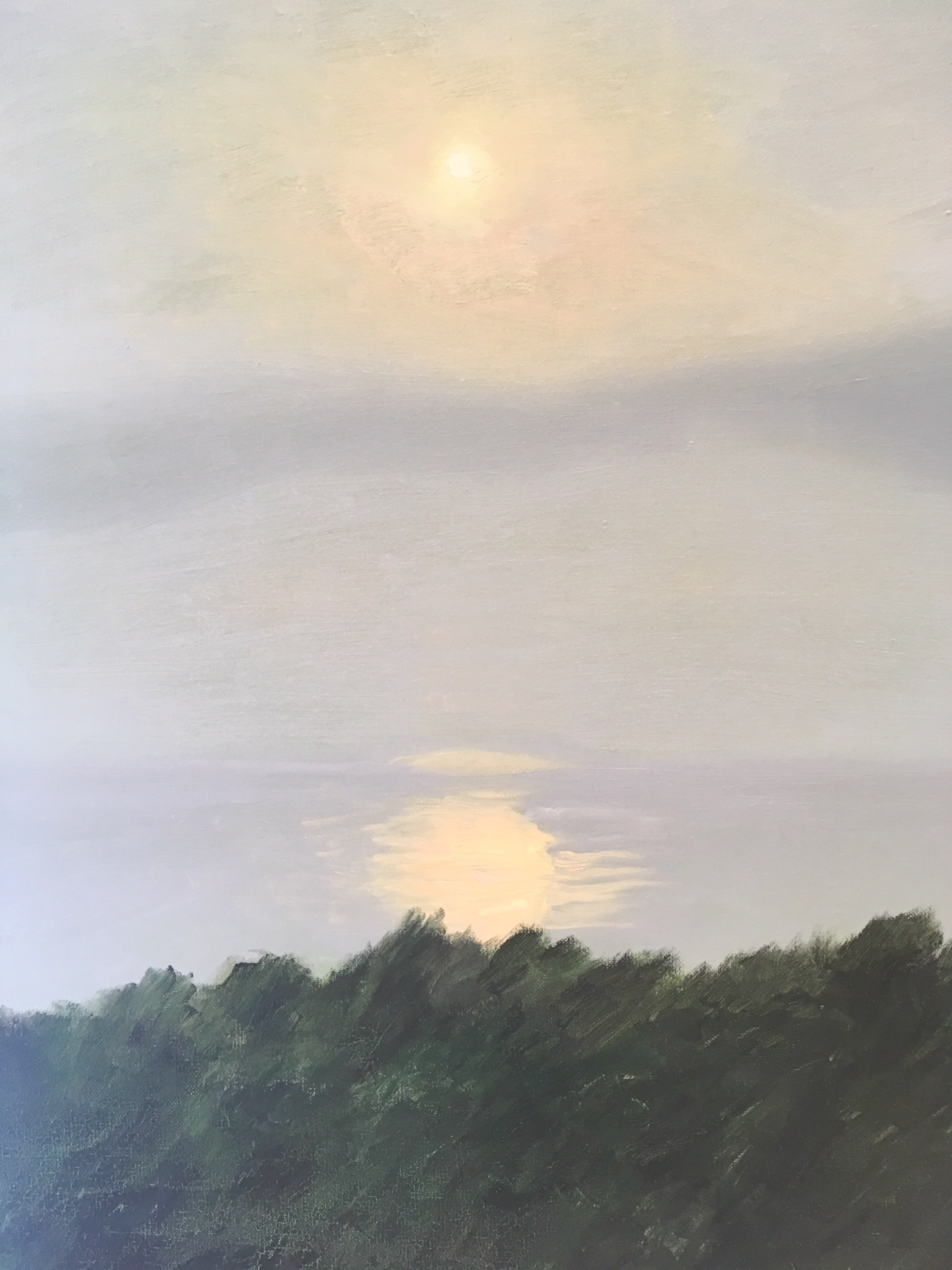 """Pale Grey Sunset"" 