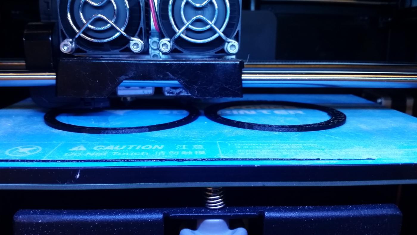 Being 3D Printed