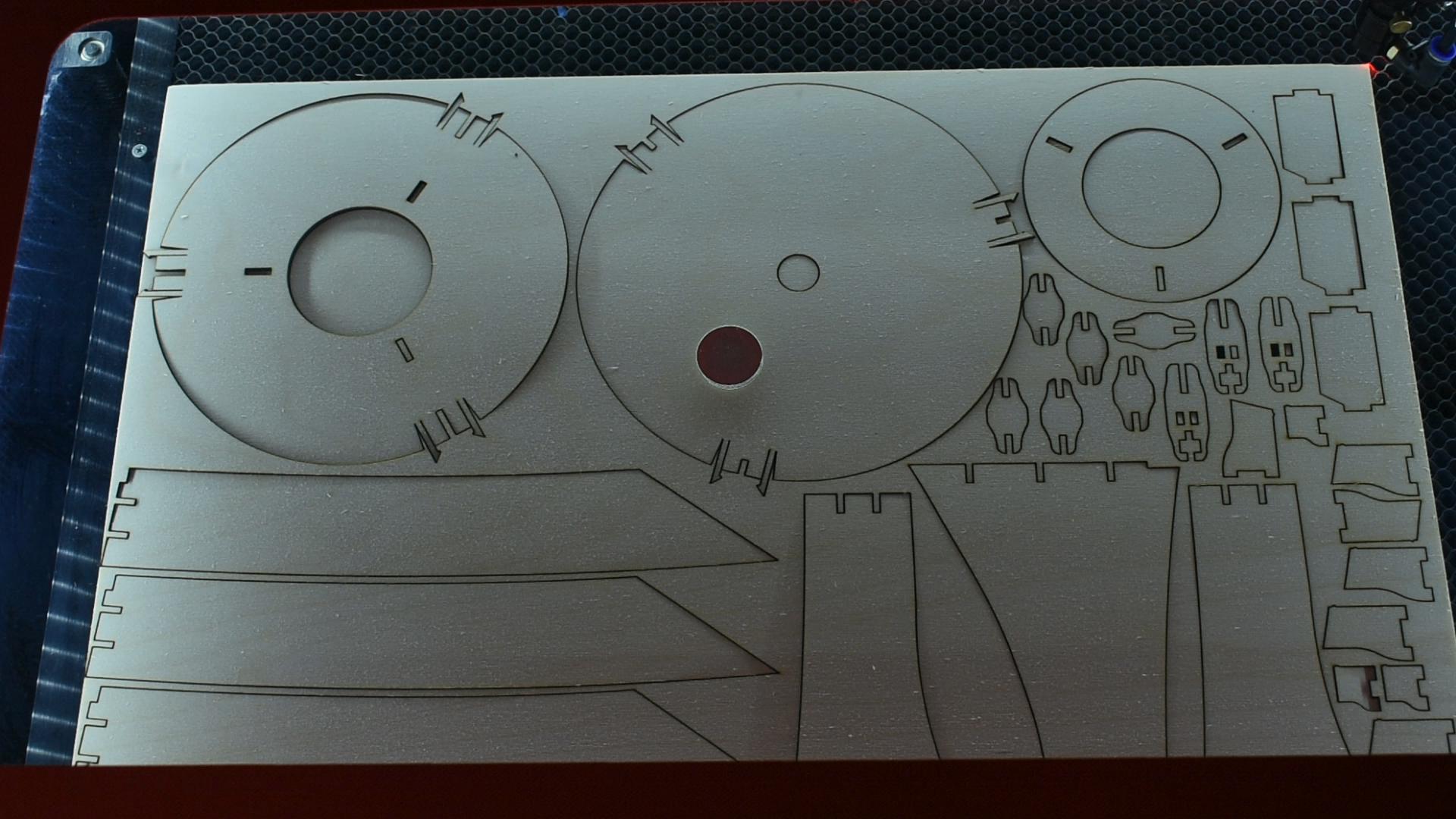 Laser Cut Pieces