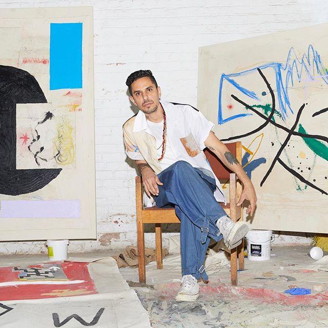 New York Art x @modaoperandi —-  thanks to @_creigh_ @_kellymccabe_ @fdelbalzo @andrewmatson —-  interview www.modaoperandi.com