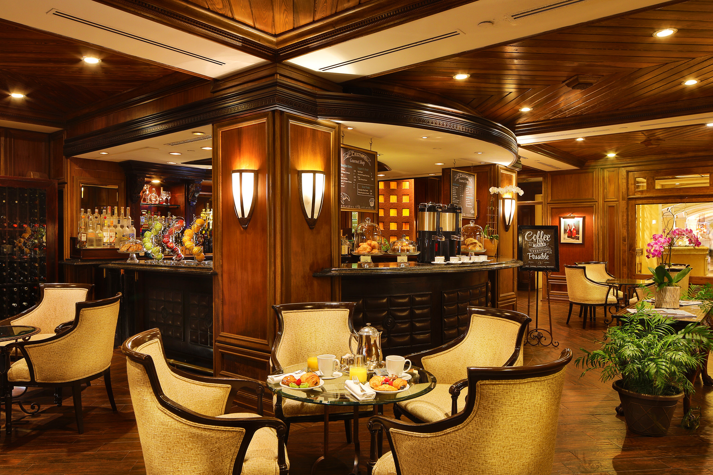 Renowned for their culinary expertise with four restaurants including the famous Palme D'Or, one of the only 5 Diamond restaurants in Florida directed by a Michelin Star Chef.