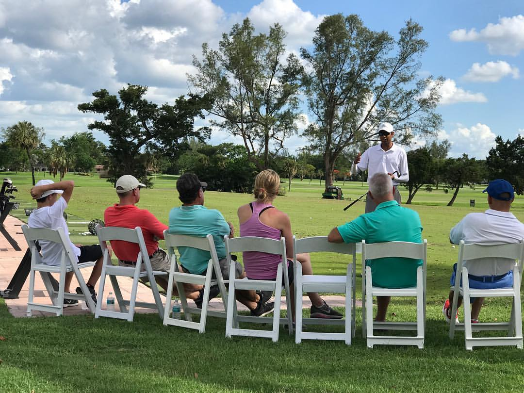 Beginner Clinic - Thursday's 11am-12pm and 6pm-7pm; every week$40 per personThis clinic is for beginner golfers.